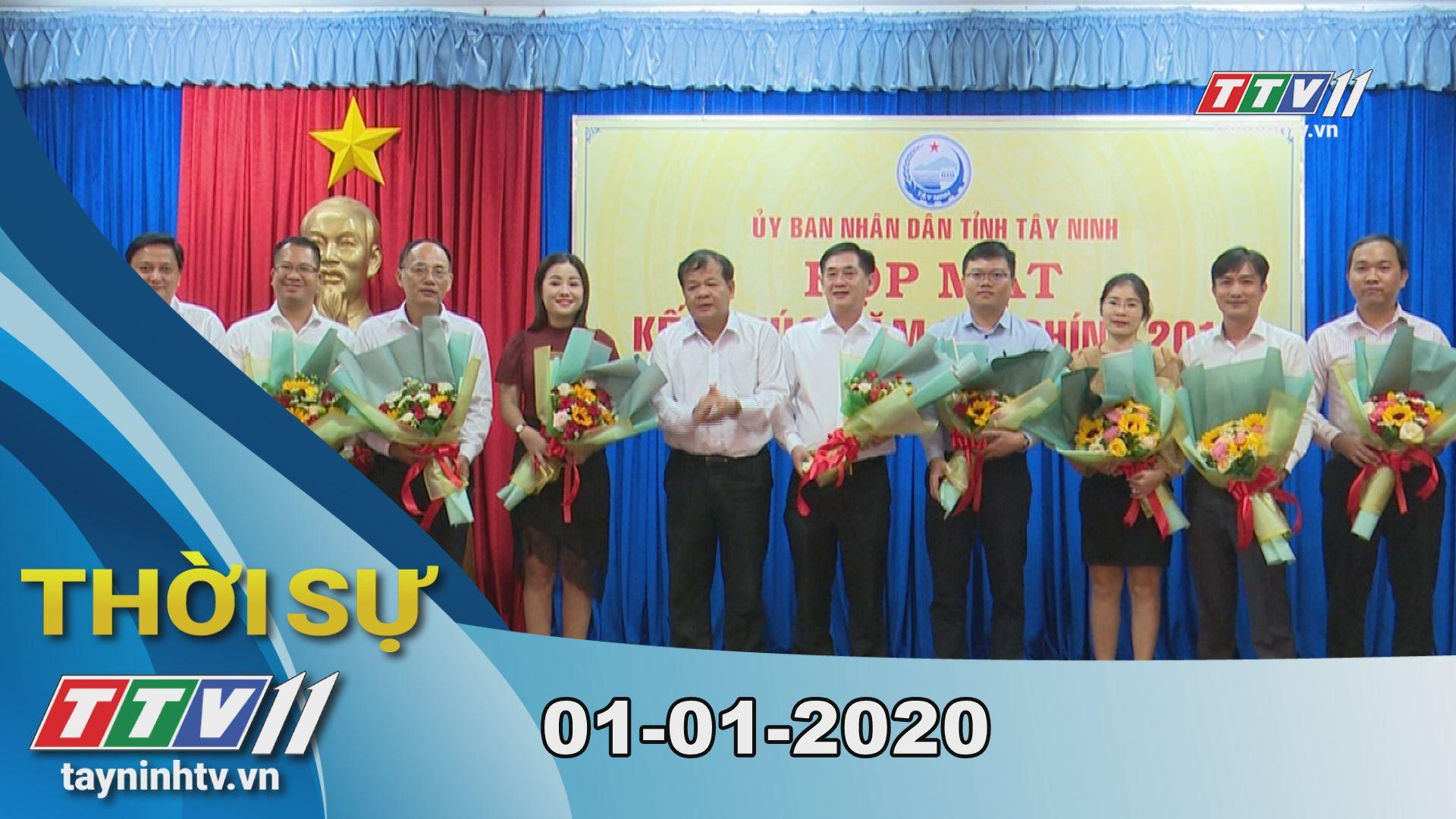 Thời sự Tây Ninh 01-01-2020 | Tin tức hôm nay | TayNinhTV