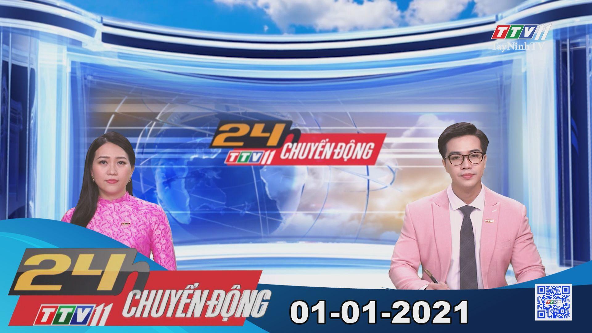 24h Chuyển động 01-01-2021 | Tin tức hôm nay | TayNinhTV