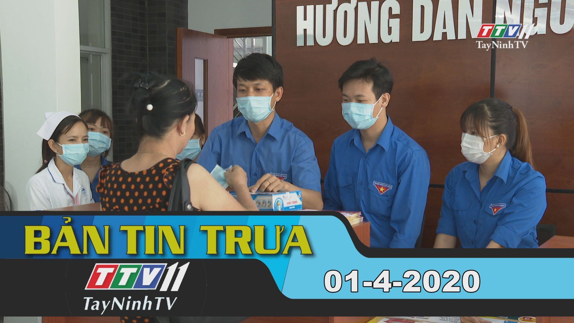 Bản tin trưa 01-4-2020 | Tin tức hôm nay | TayNinhTV