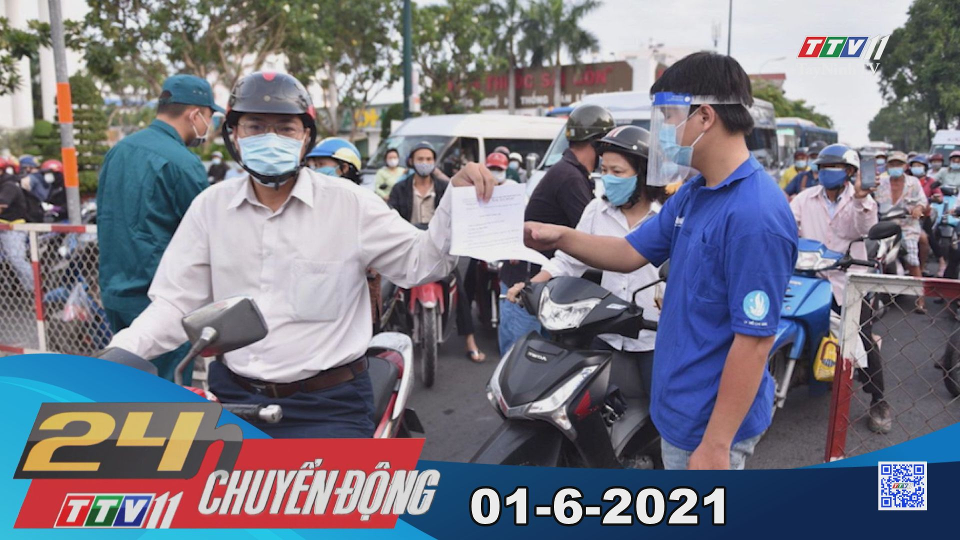 24h Chuyển động 01-6-2021 | Tin tức hôm nay | TayNinhTV