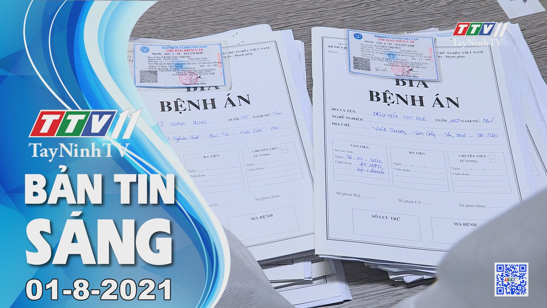 Bản tin sáng 01-8-2021 | Tin tức hôm nay | TayNinhTV