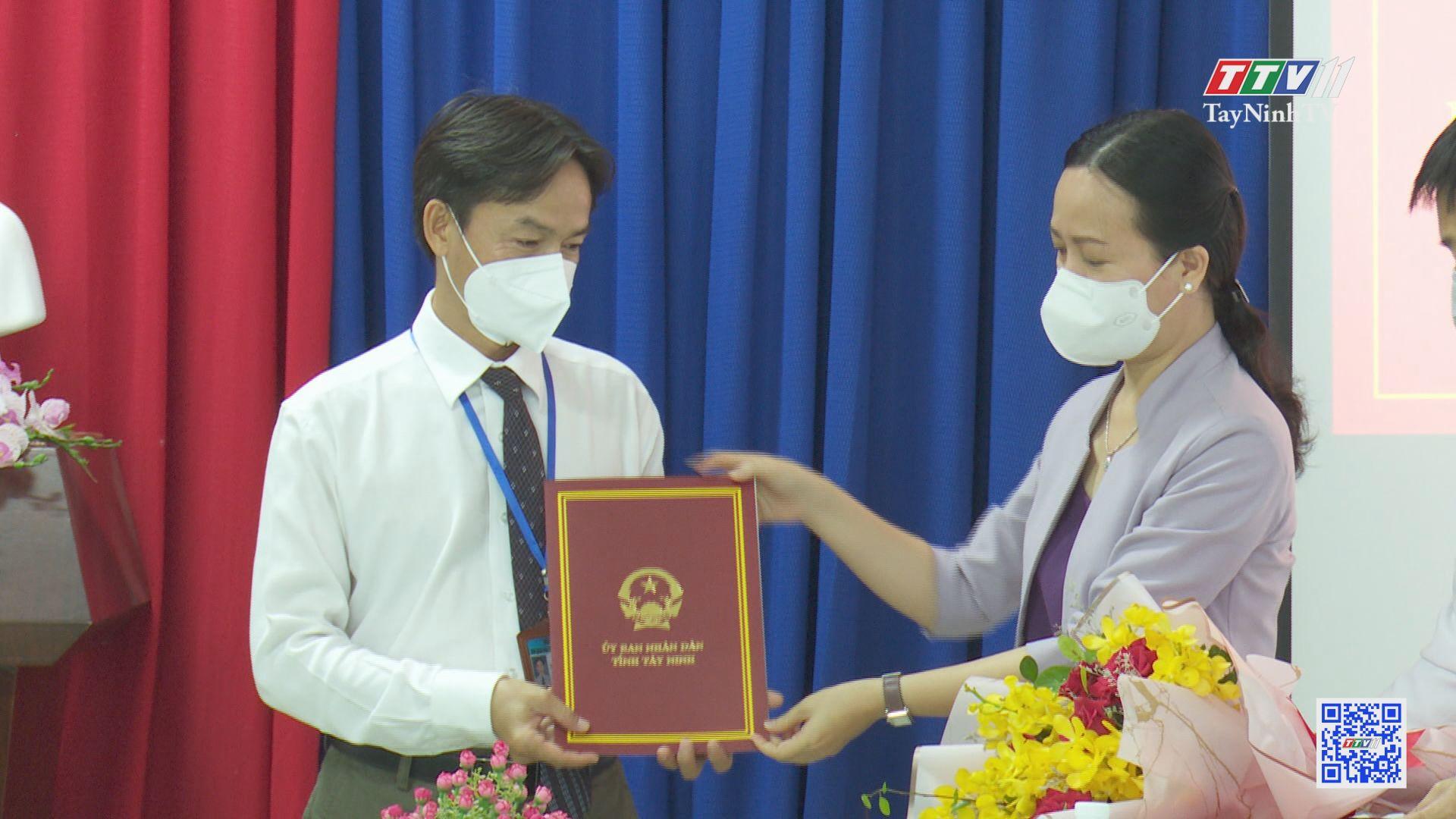 Bổ nhiệm Phó Giám đốc Ban Quản lý Dự án đầu tư Xây dựng tỉnh | NHÂN SỰ MỚI | TayNinhTV