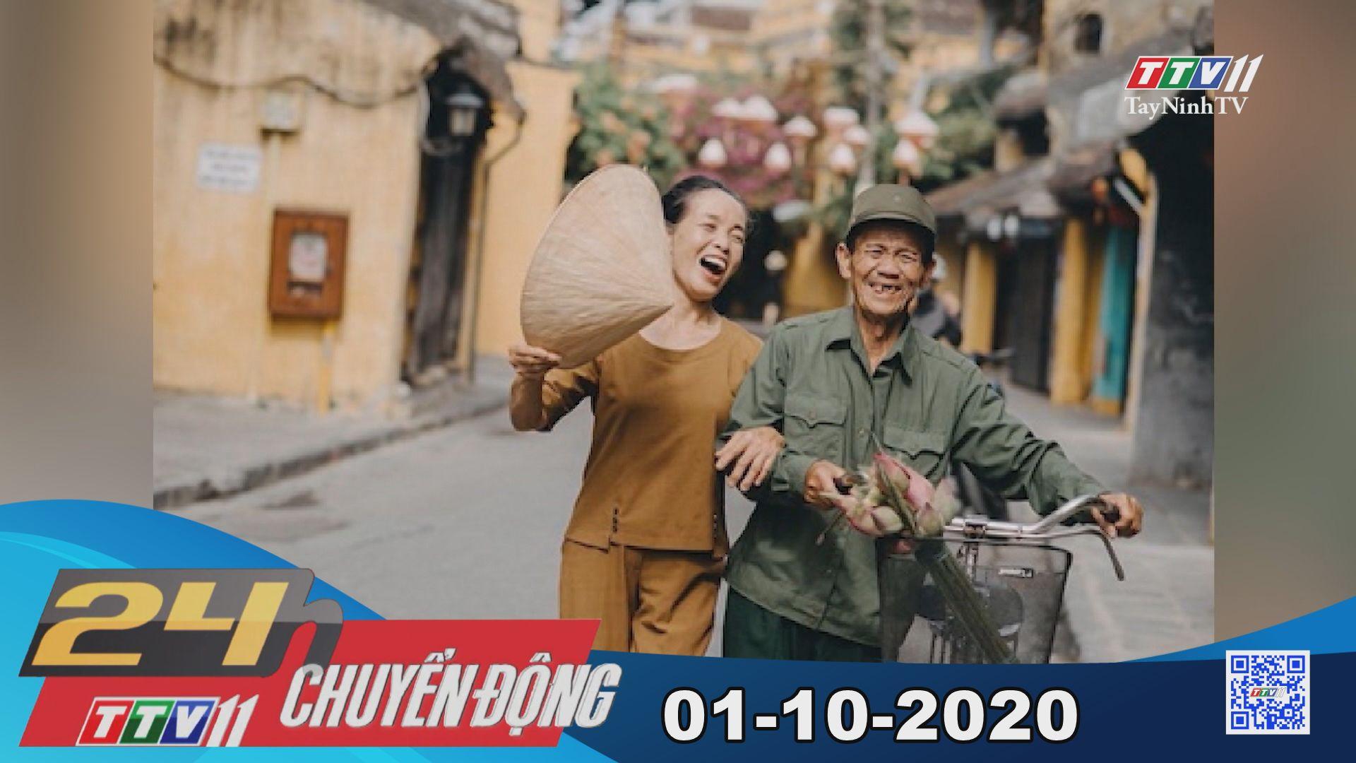 24h Chuyển động 01-10-2020 | Tin tức hôm nay | TayNinhTV