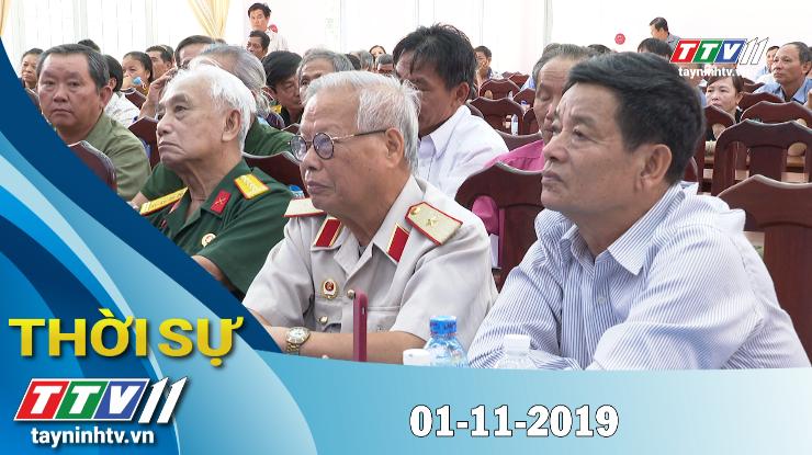 Thời sự Tây Ninh 01-11-2019 | Tin tức hôm nay | Tây Ninh TV