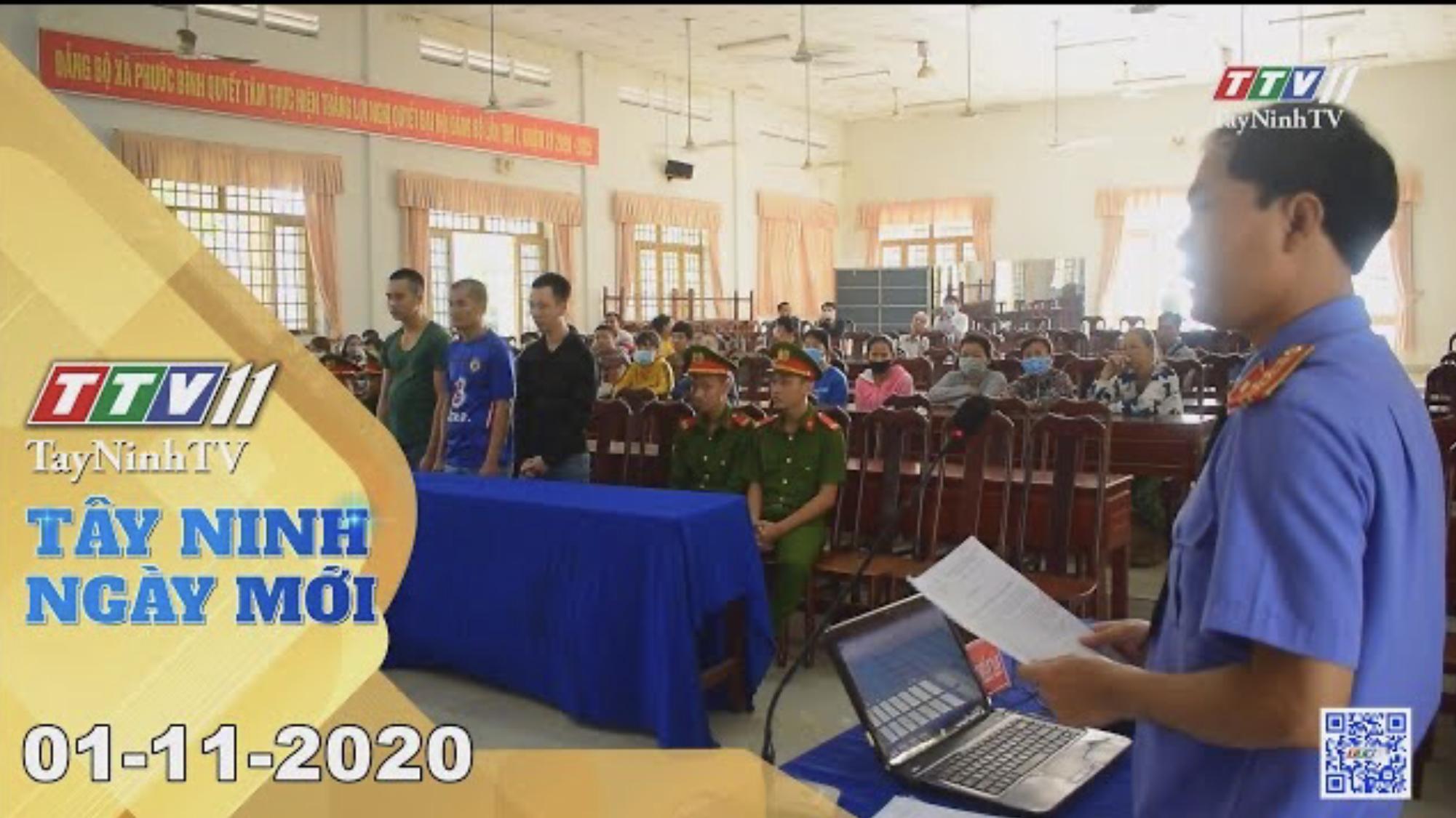 Tây Ninh Ngày Mới 01-11-2020 | Tin tức hôm nay | TayNinhTV