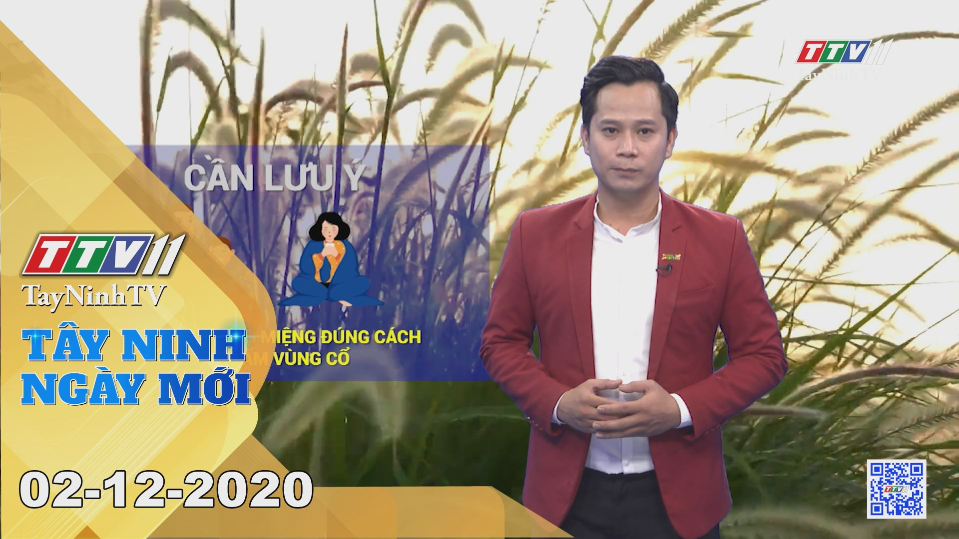 Tây Ninh Ngày Mới 02-12-2020 | Tin tức hôm nay | TayNinhTV