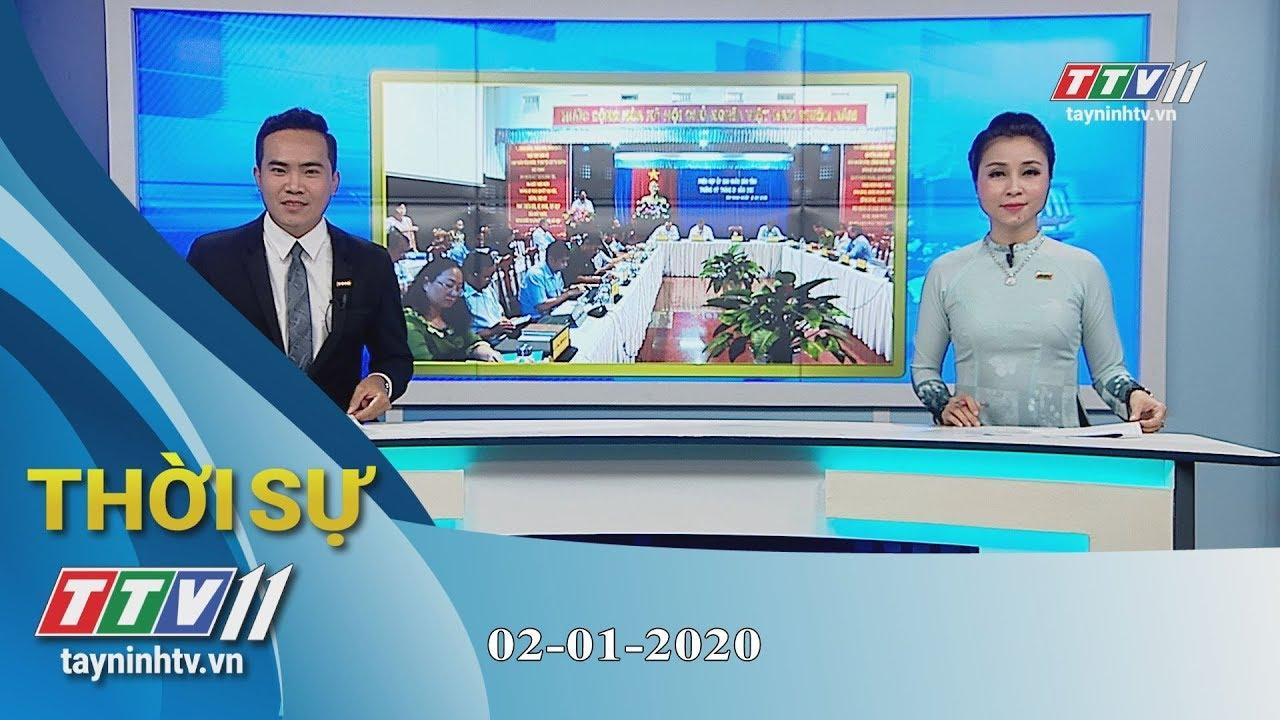 Thời sự Tây Ninh 02-01-2020   Tin tức hôm nay   TayNinhTV