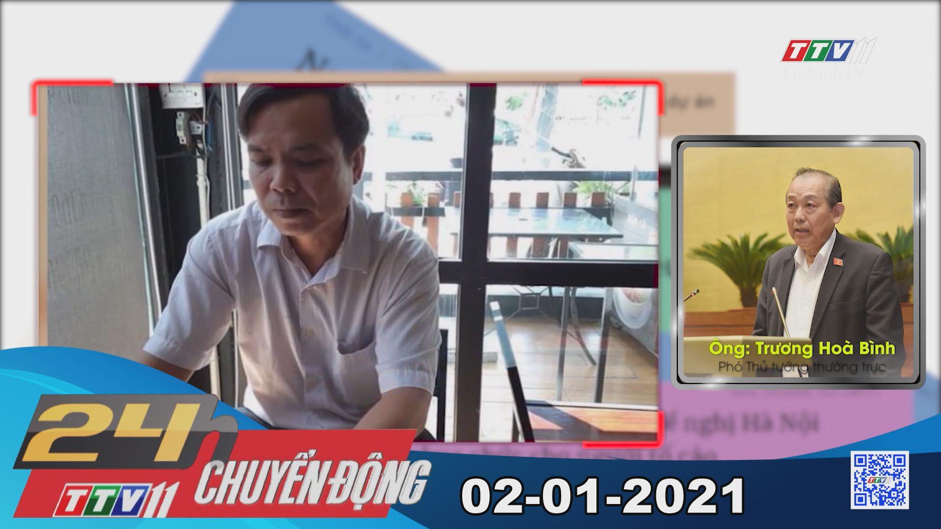24h Chuyển động 02-01-2021 | Tin tức hôm nay | TayNinhTV
