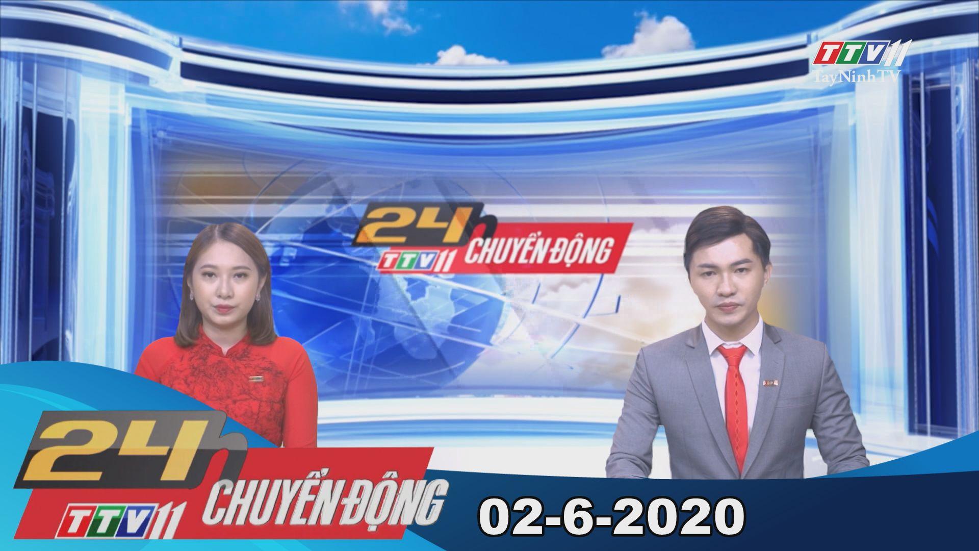 24h Chuyển động 02-6-2020 | Tin tức hôm nay | TayNinhTV