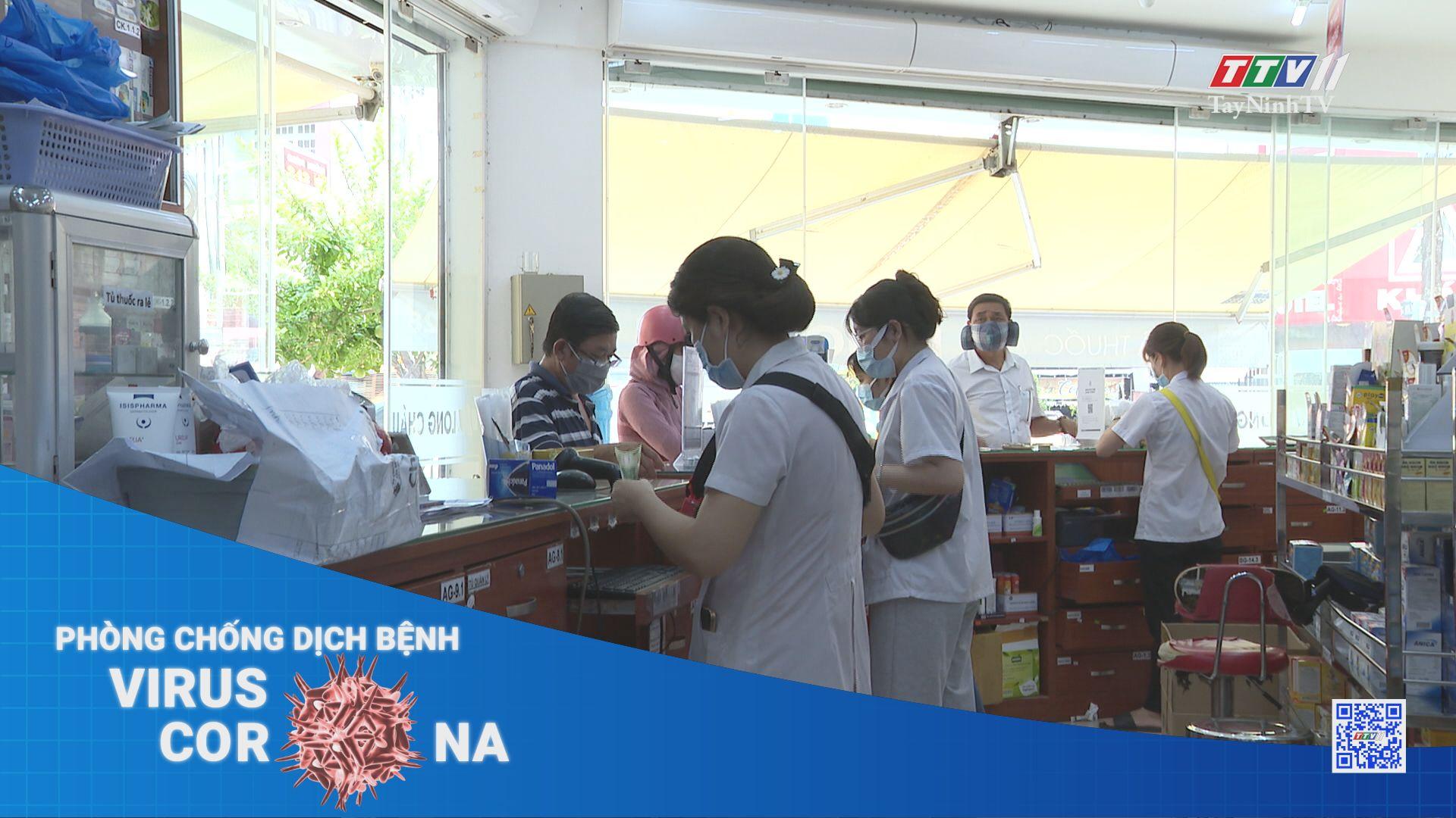Tất cả người mua thuốc có triệu chứng hô hấp phải khai báo y tế | THÔNG TIN DỊCH CÚM COVID-19 | TayNinhTV
