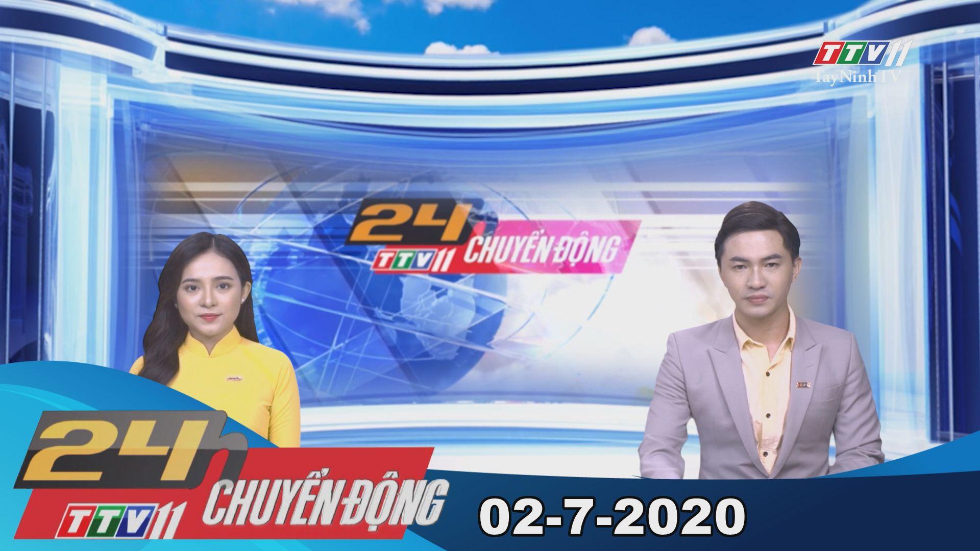 24h Chuyển động 02-7-2020 | Tin tức hôm nay | TayNinhTV