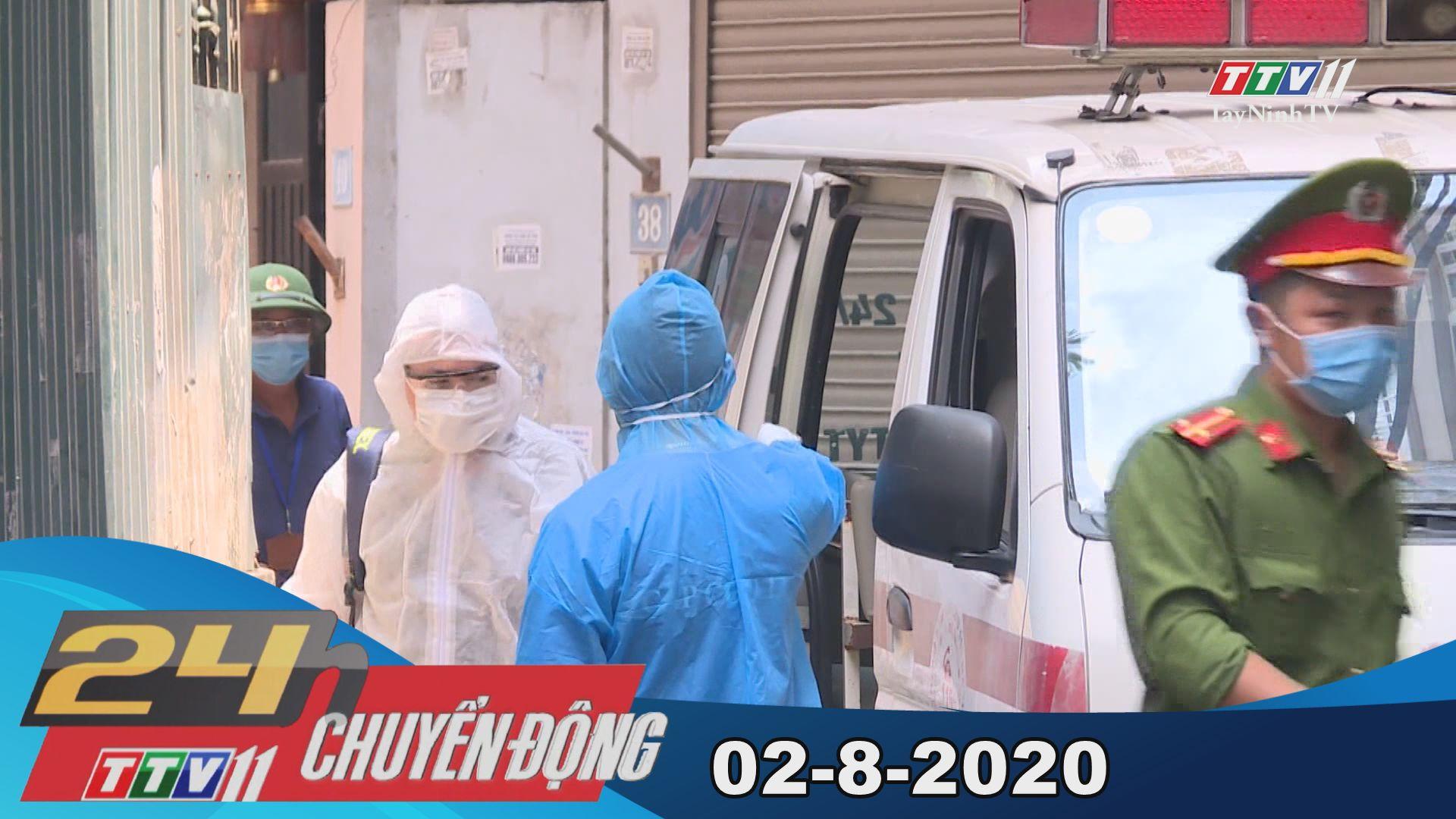 24h Chuyển động 02-8-2020 | Tin tức hôm nay | TayNinhTV