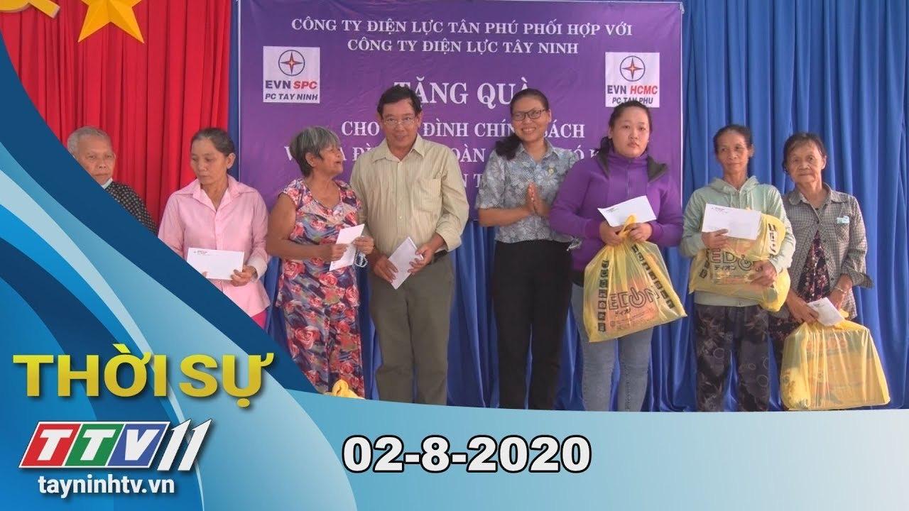 Thời sự Tây Ninh 02-8-2020 | Tin tức hôm nay | TayNinhTV