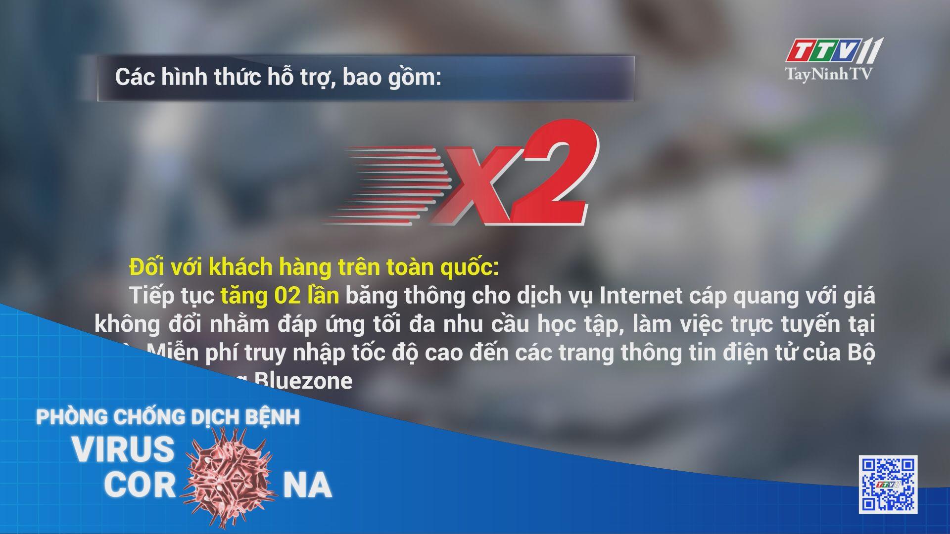 Công bố gói hỗ trợ dịch vụ viễn thông gần 10.000 tỷ đồng | THÔNG TIN DỊCH COVID-19 | TayNinhTV