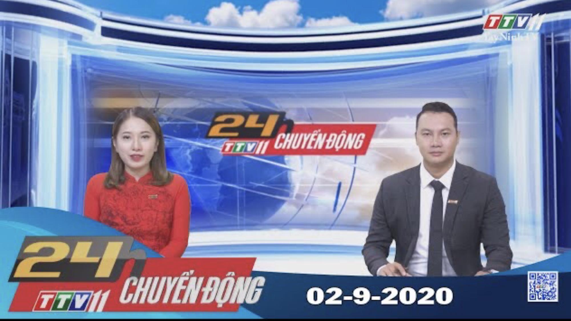 24h Chuyển động 02-9-2020 | Tin tức hôm nay | TayNinhTV