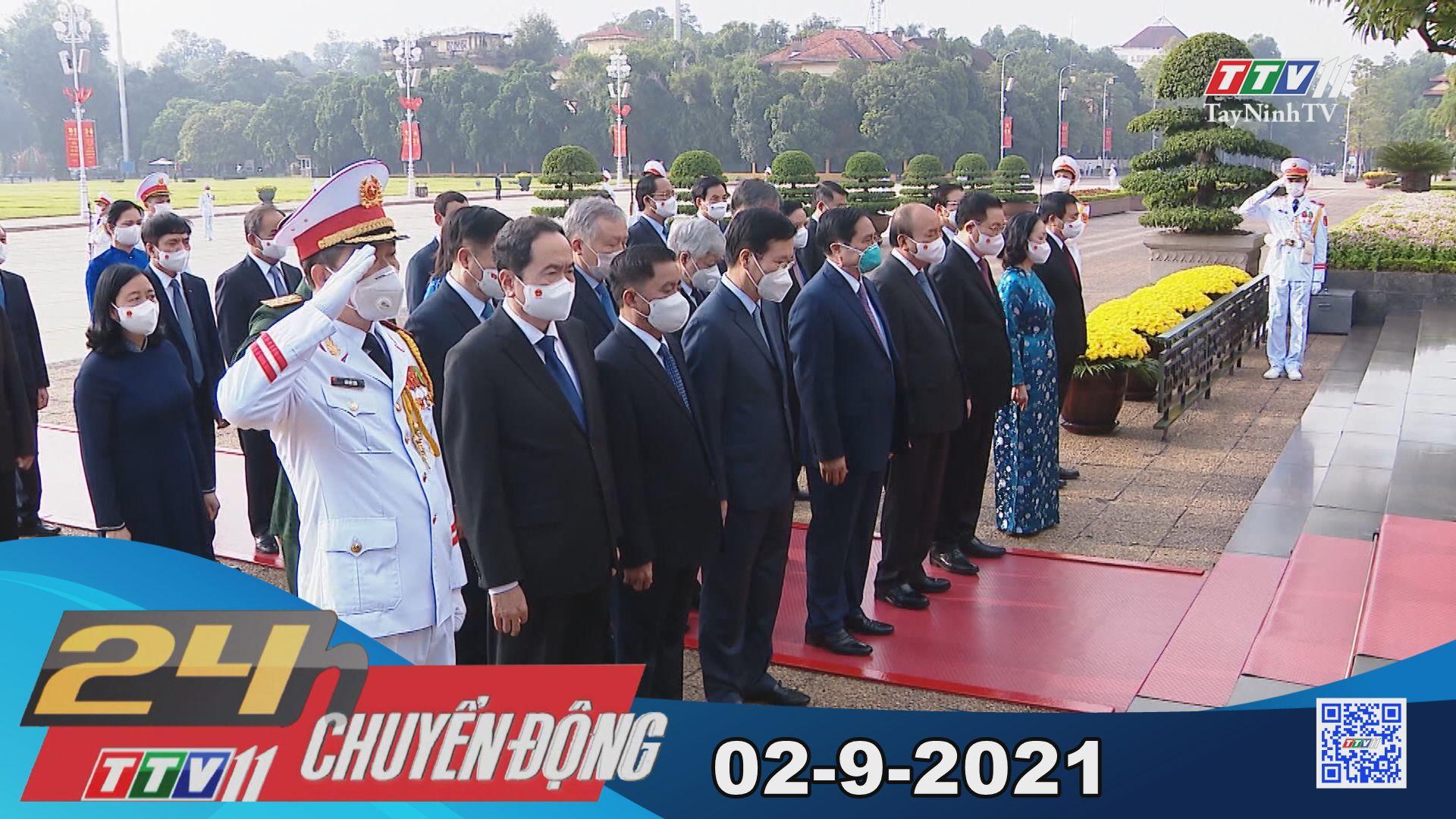 24h Chuyển động 02-9-2021 | Tin tức hôm nay | TayNinhTV