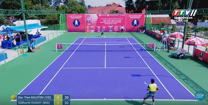 GIẢI QUẦN VỢT QUỐC TẾ ITF WORLD TENNIS TOUR M25 TAY NINH HAI DANG CUP 2019 | Dac Tien NGUYEN (VIE) VS Sidharth RAWAT (VIE)