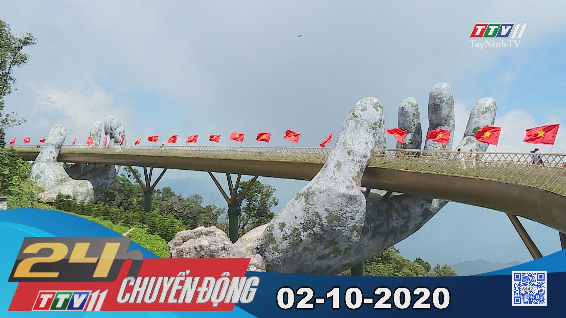 24h Chuyển động 02-10-2020 | Tin tức hôm nay | TayNinhTV