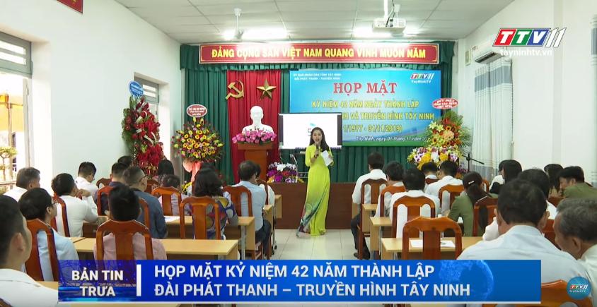 Bản tin trưa 02-11-2019 | BẢN TIN TRƯA | Tây Ninh TV