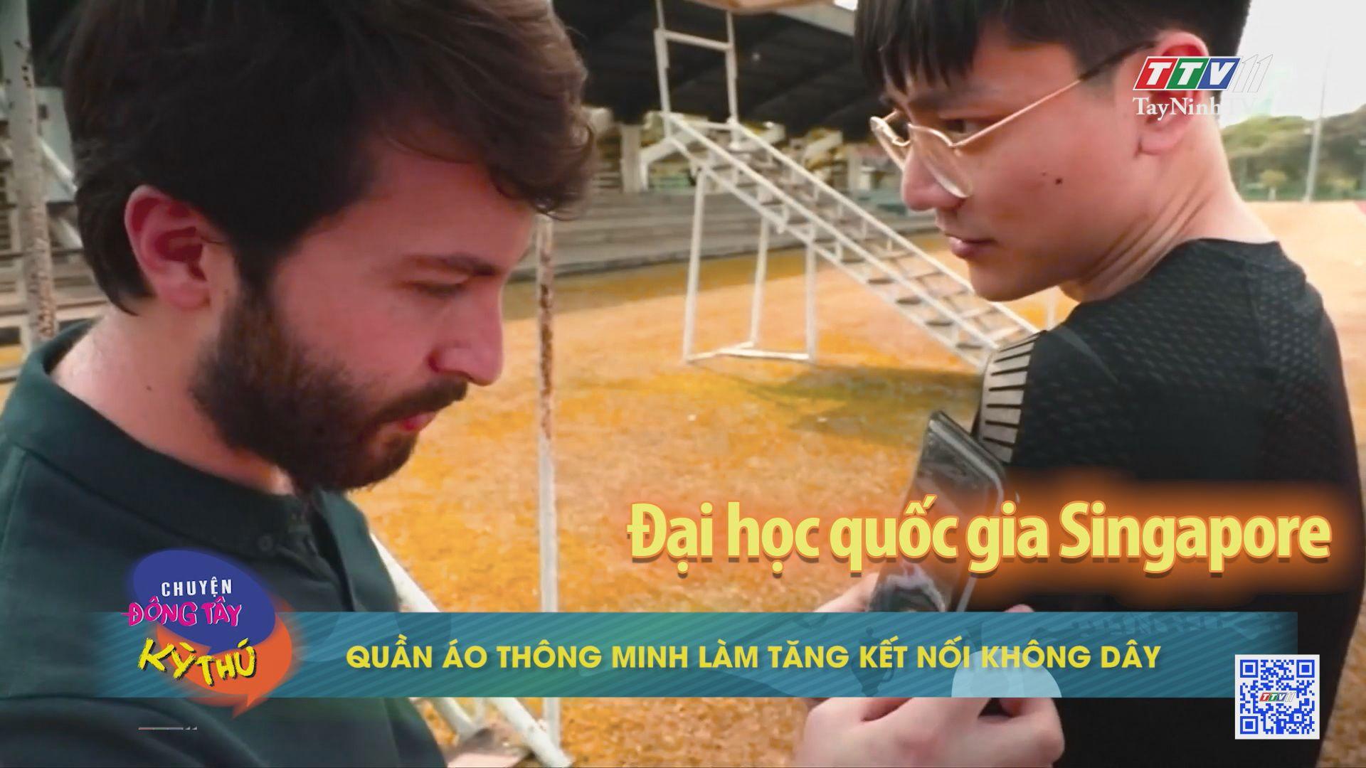 Quần áo thông minh làm tăng kết nối không dây | CHUYỆN ĐÔNG TÂY KỲ THÚ | TayNinhTV