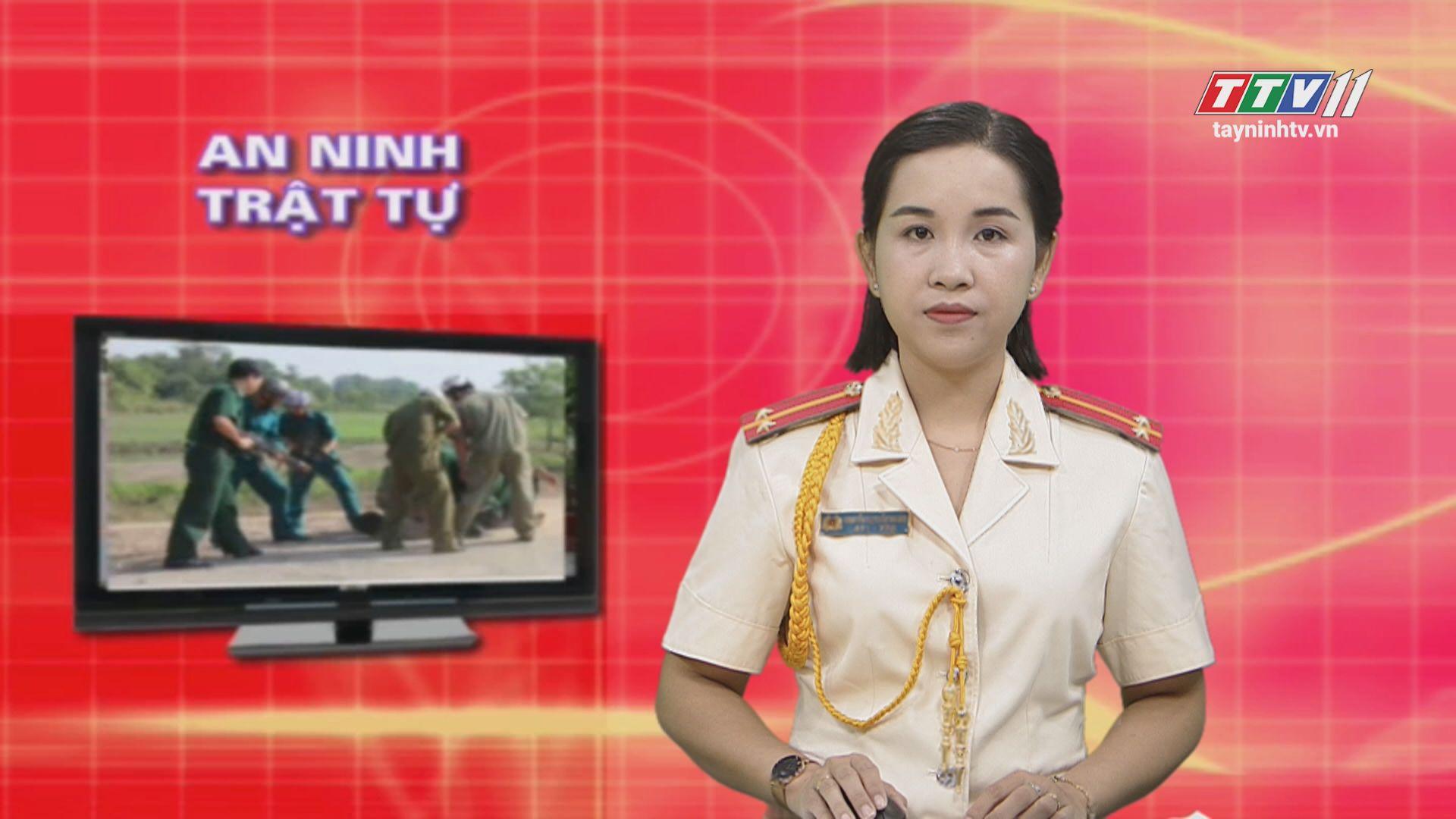 An ninh Tây Ninh 03-01-2020 | Tin tức hôm nay | TayNinhTV