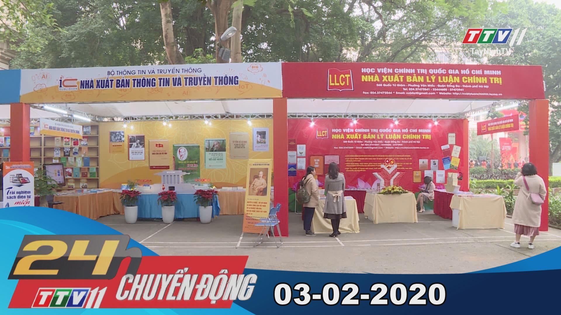 24h Chuyển động 03-02-2020 | Tin tức hôm nay | TayNinhTV