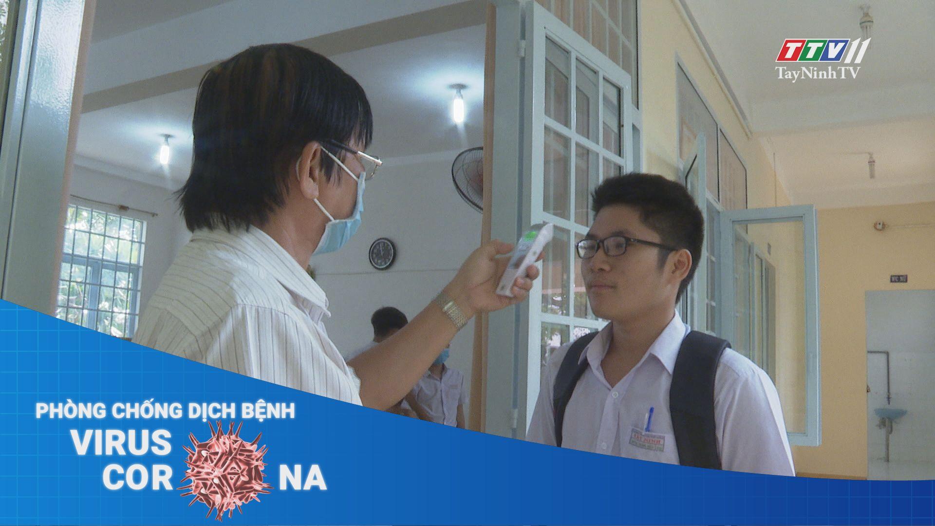 Các trường THPT tại Tây Ninh sẵn sàng đón học sinh trở lại học tập | THÔNG TIN DỊCH CÚM COVID-19 | TayNinhTV