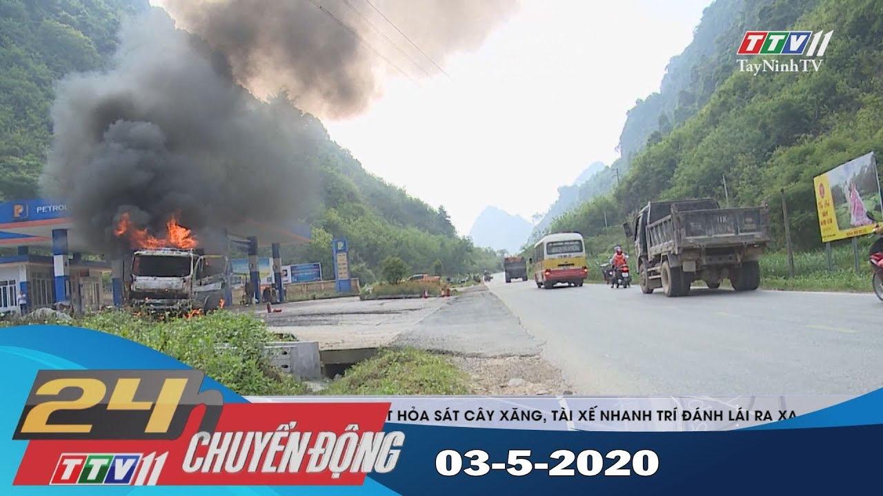 24h Chuyển động 03-5-2020 | Tin tức hôm nay | TayNinhTV