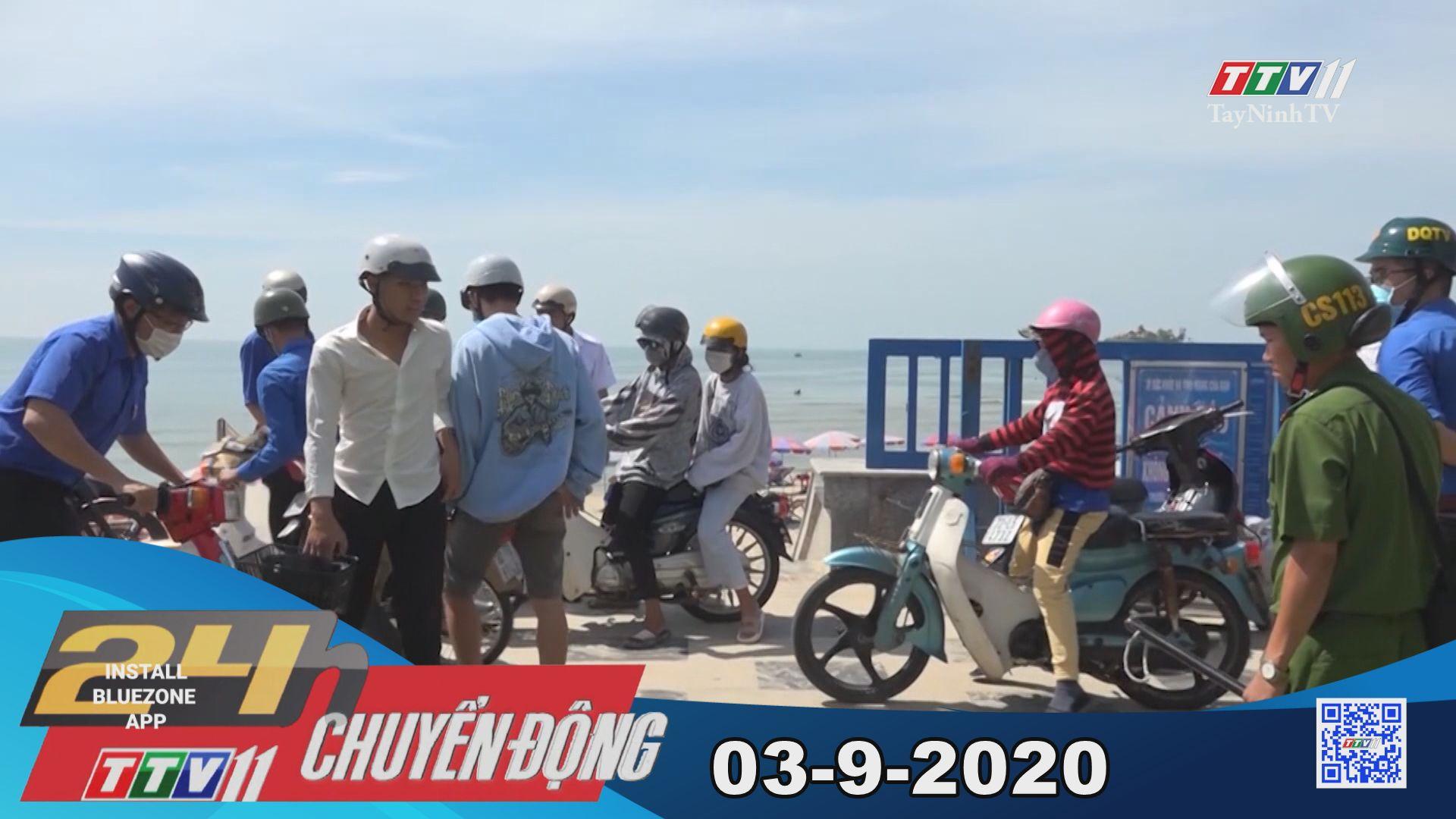24h Chuyển động 03-9-2020 | Tin tức hôm nay | TayNinhTV