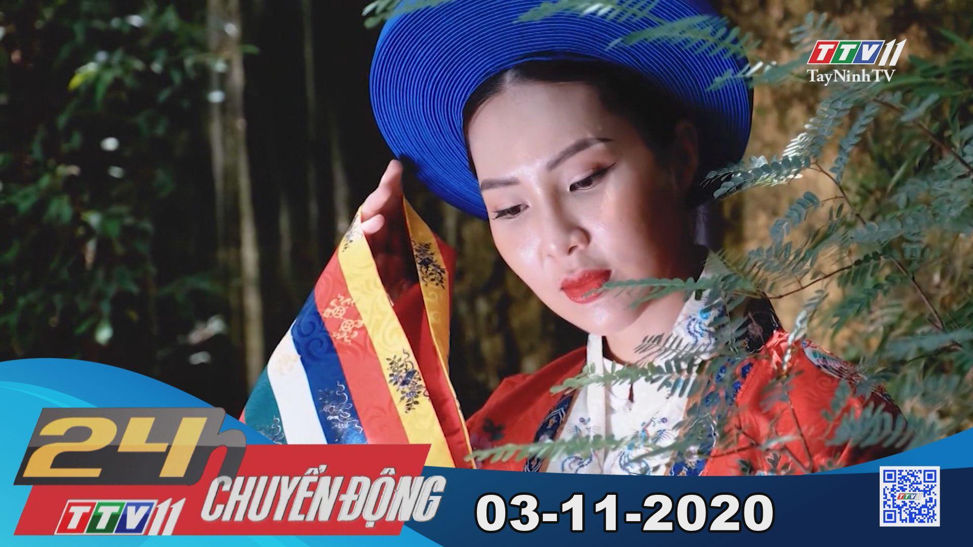 24h Chuyển động 03-11-2020   Tin tức hôm nay   TayNinhTV