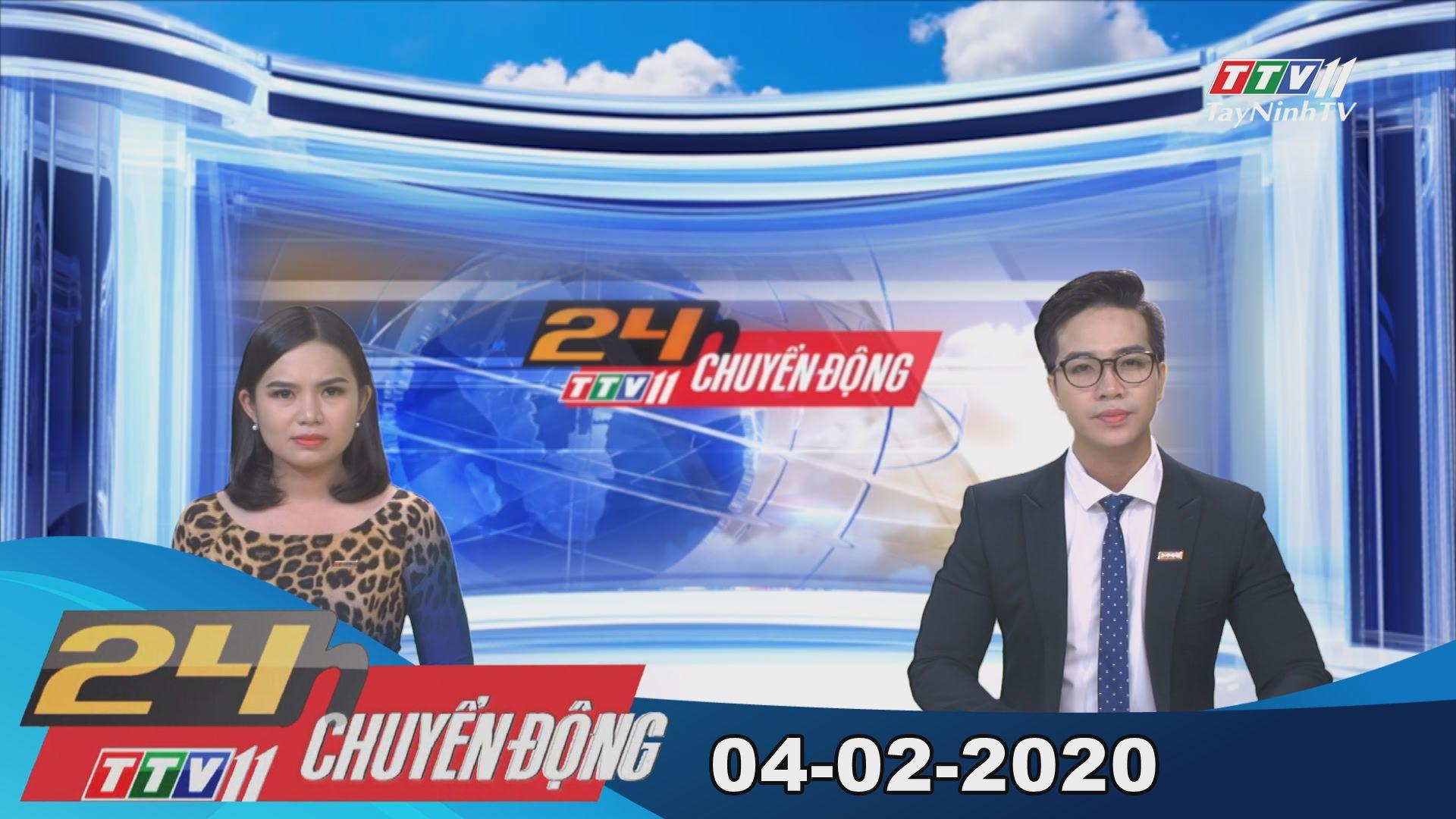 24h Chuyển động 04-02-2020 | Tin tức hôm nay | TayNinhTV