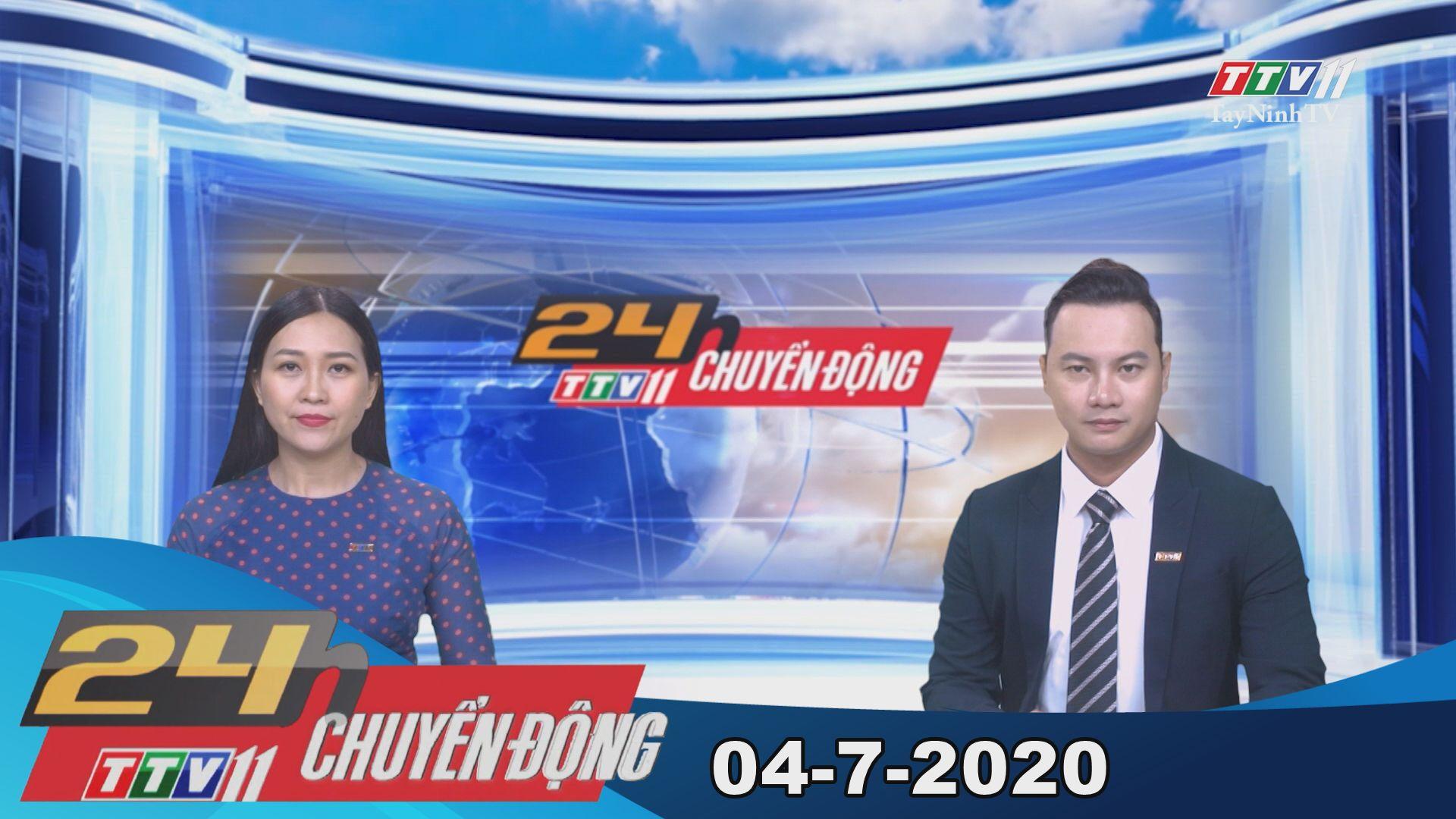 24h Chuyển động 04-7-2020 | Tin tức hôm nay | TayNinhTV