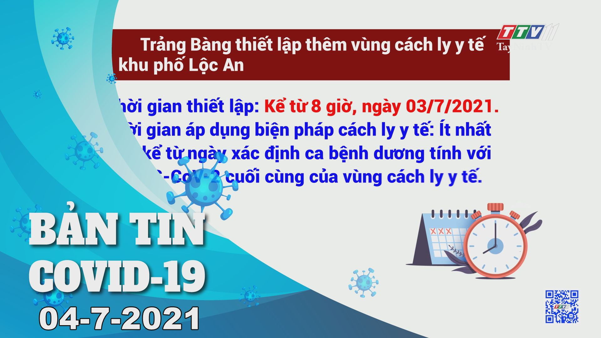 Bản tin Covid-19   Tin tức hôm nay 04-7-2021   TâyNinhTV