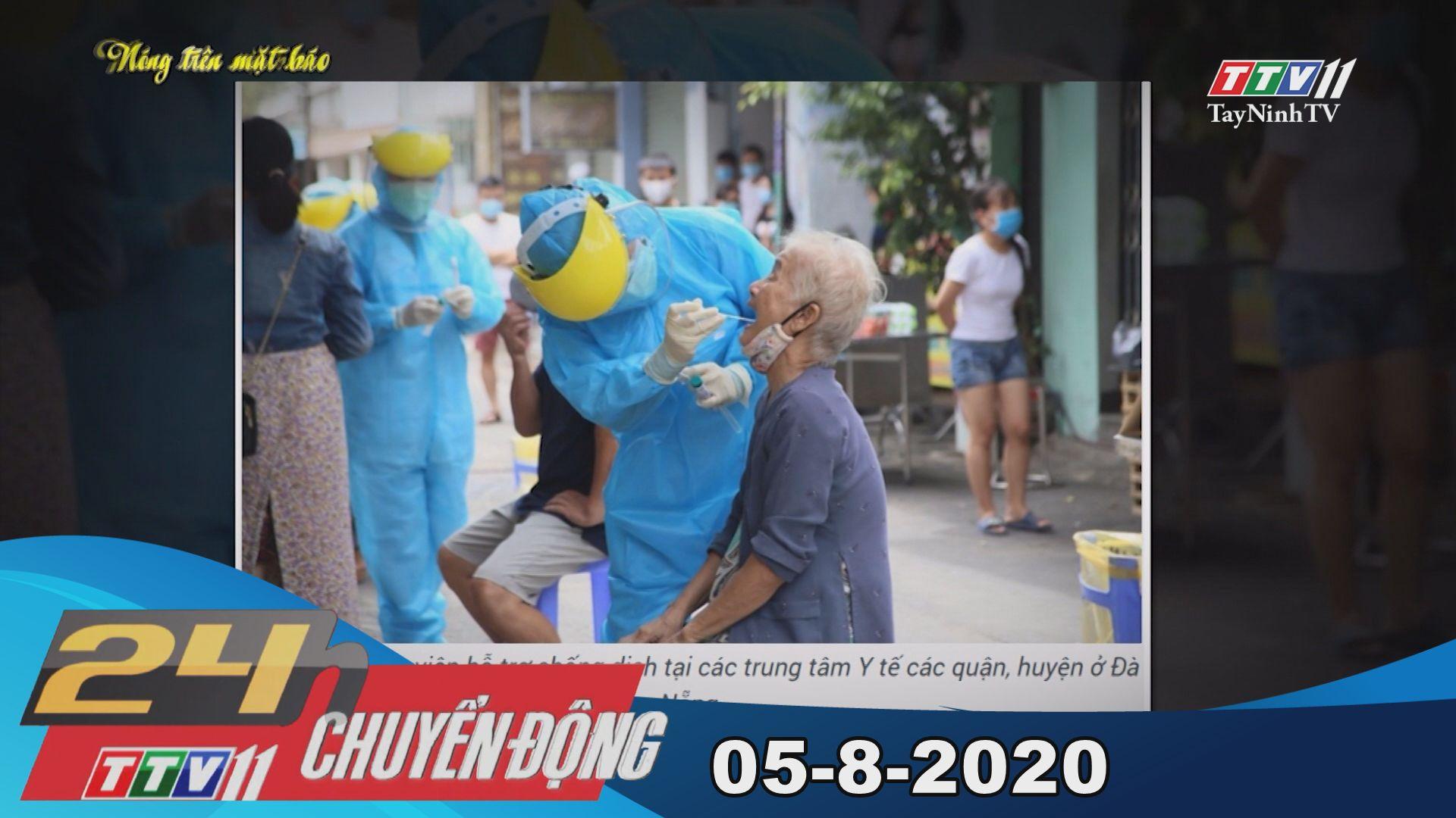24h Chuyển động 04-8-2020 | Tin tức hôm nay | TayNinhTV