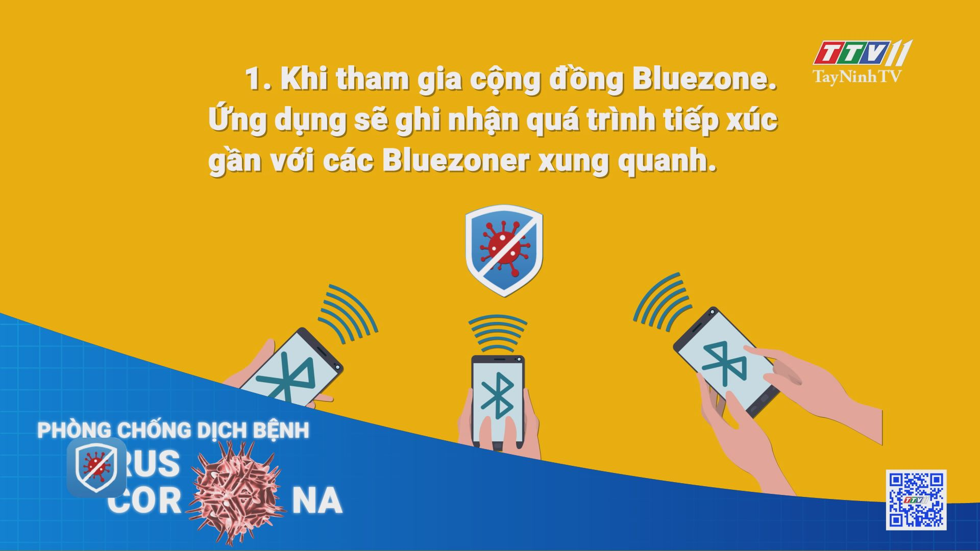 Giải đáp một số thắc mắc thường gặp về ứng dụng Bluezone | THÔNG TIN DỊCH CÚM COVID-19 | TayNinhTV