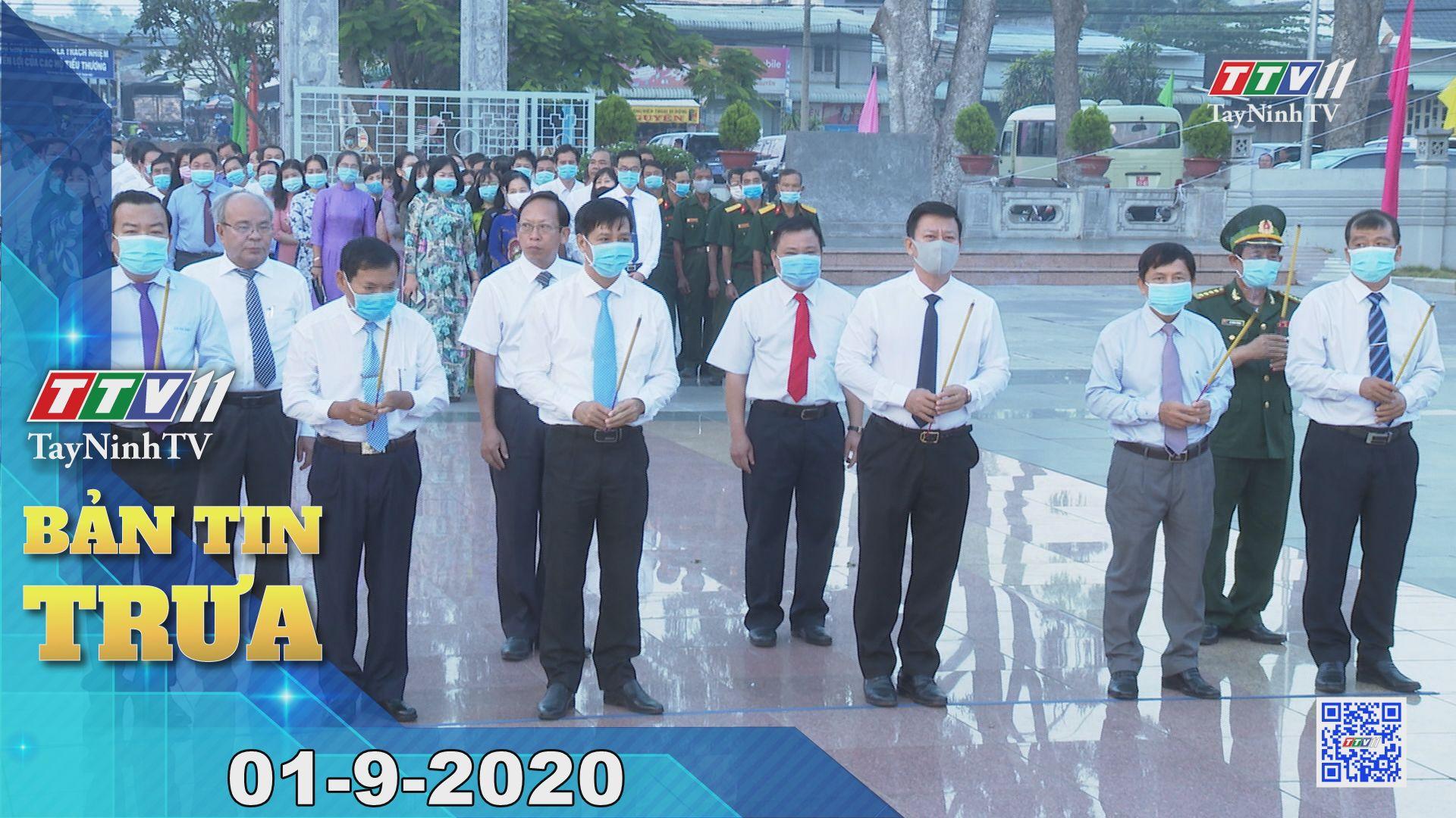 Bản tin trưa 01-9-2020 | Tin tức hôm nay | TayNinhTV