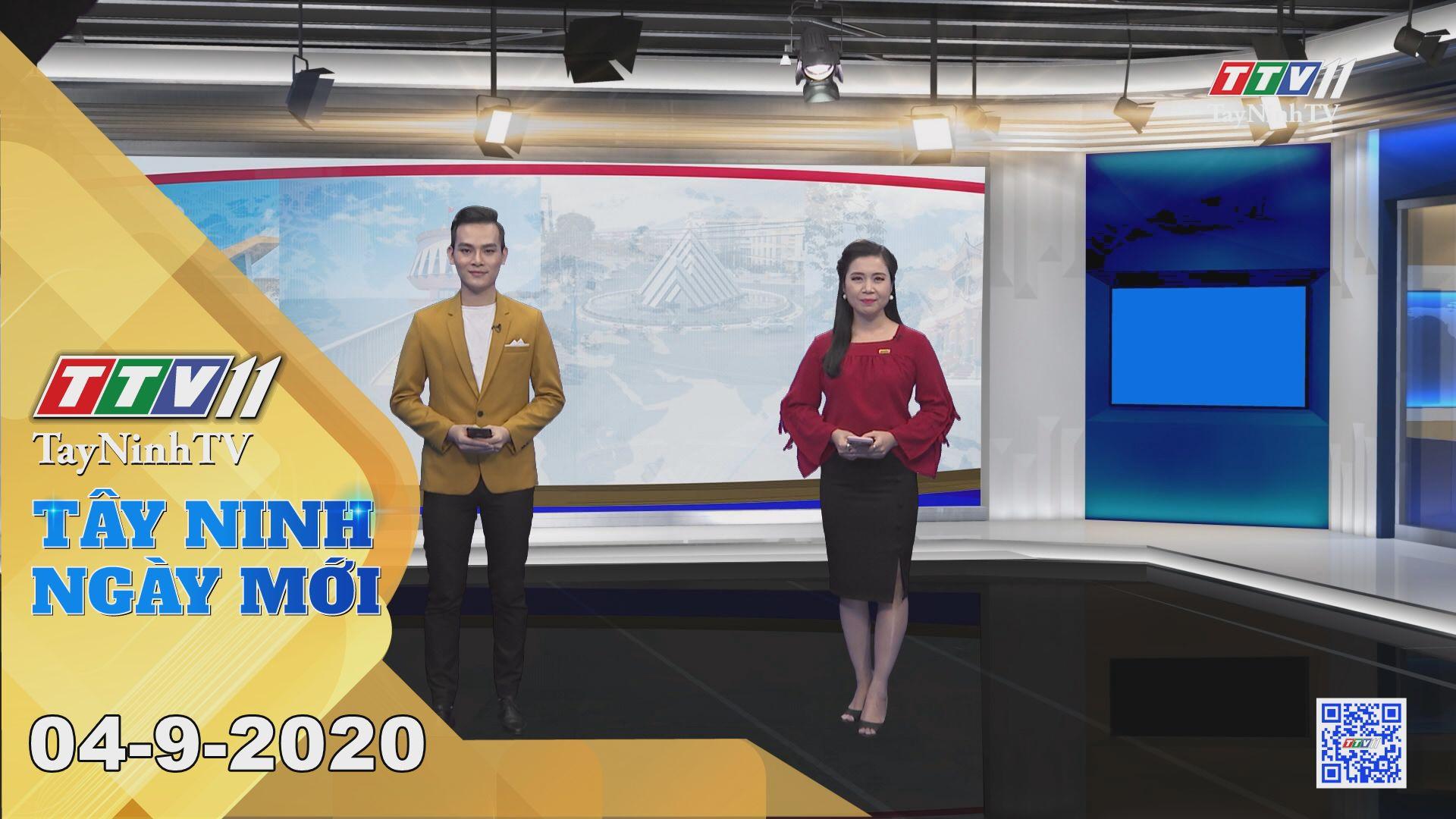 Tây Ninh Ngày Mới 04-9-2020 | Tin tức hôm nay | TayNinhTV