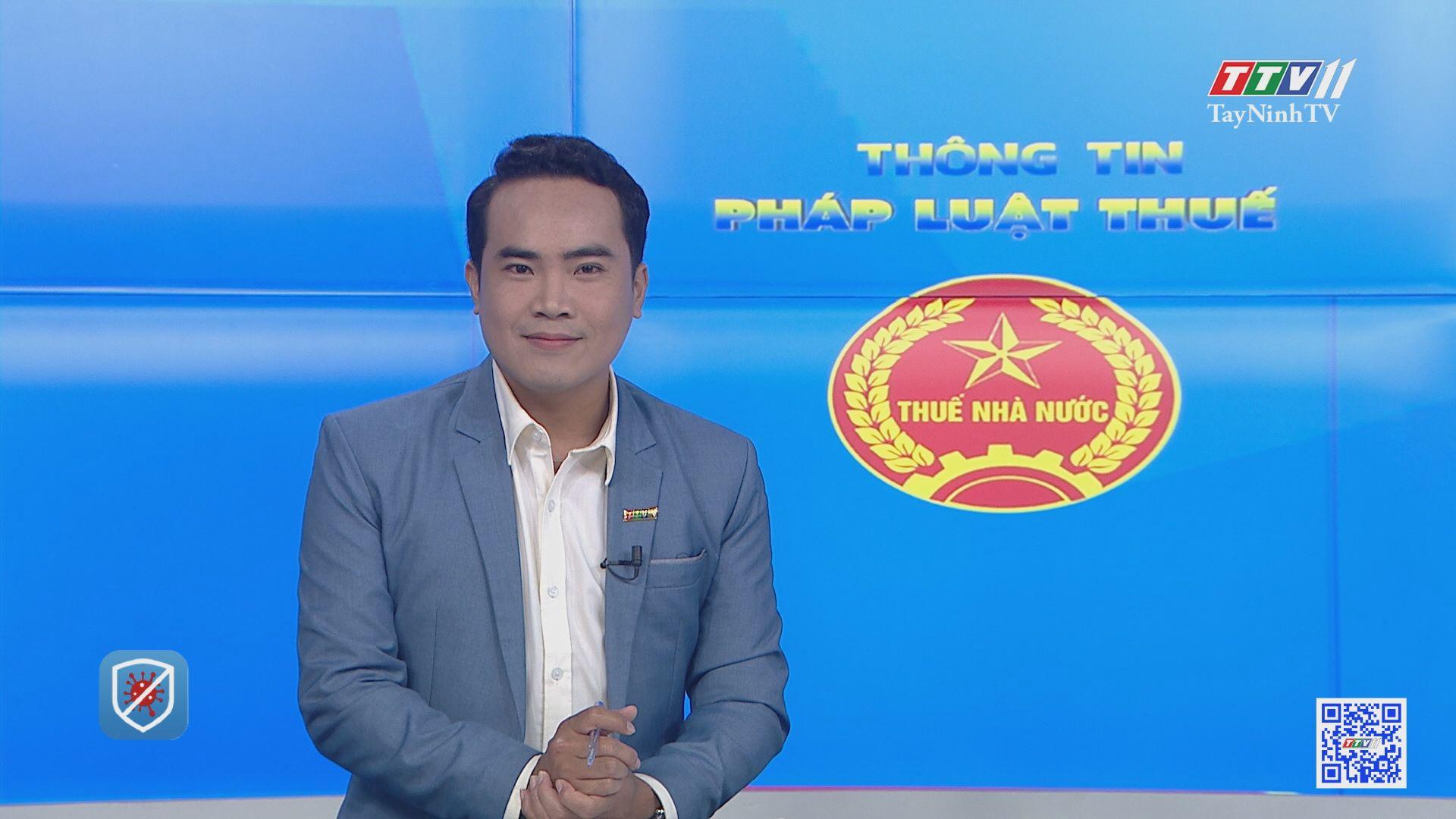 Giảm tiền thuế đất đối với các đối tưởng bị ảnh hưởng bởi dịch Covid-19 | THÔNG TIN PHÁP LUẬT THUẾ | TayNinhTV