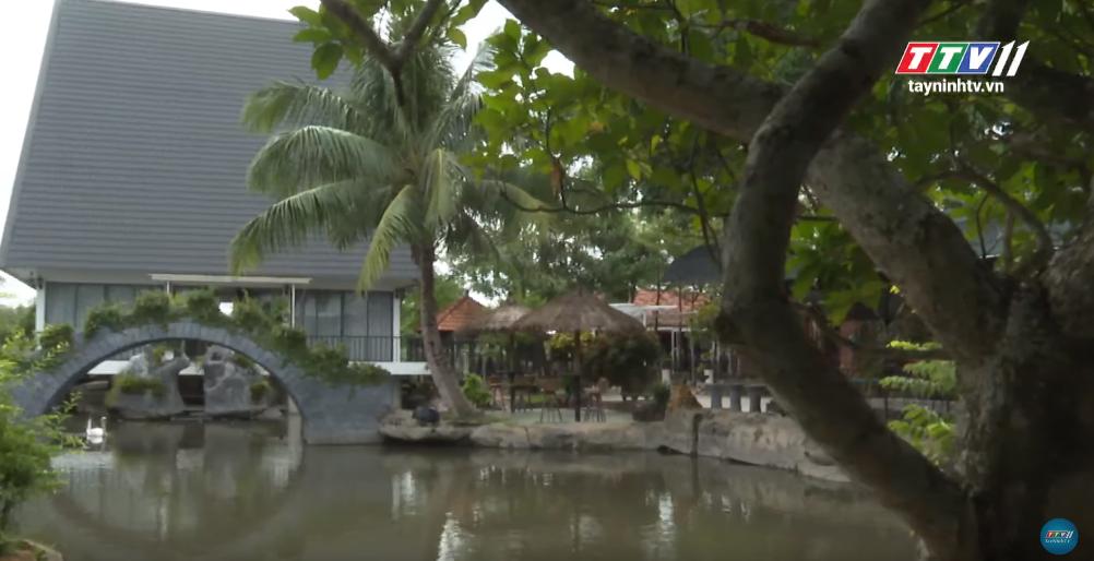 Kiến trúc nhà ĐỘC ĐÁO trên mặt hồ nước | KHÔNG GIAN ĐẸP | Tây Ninh TV