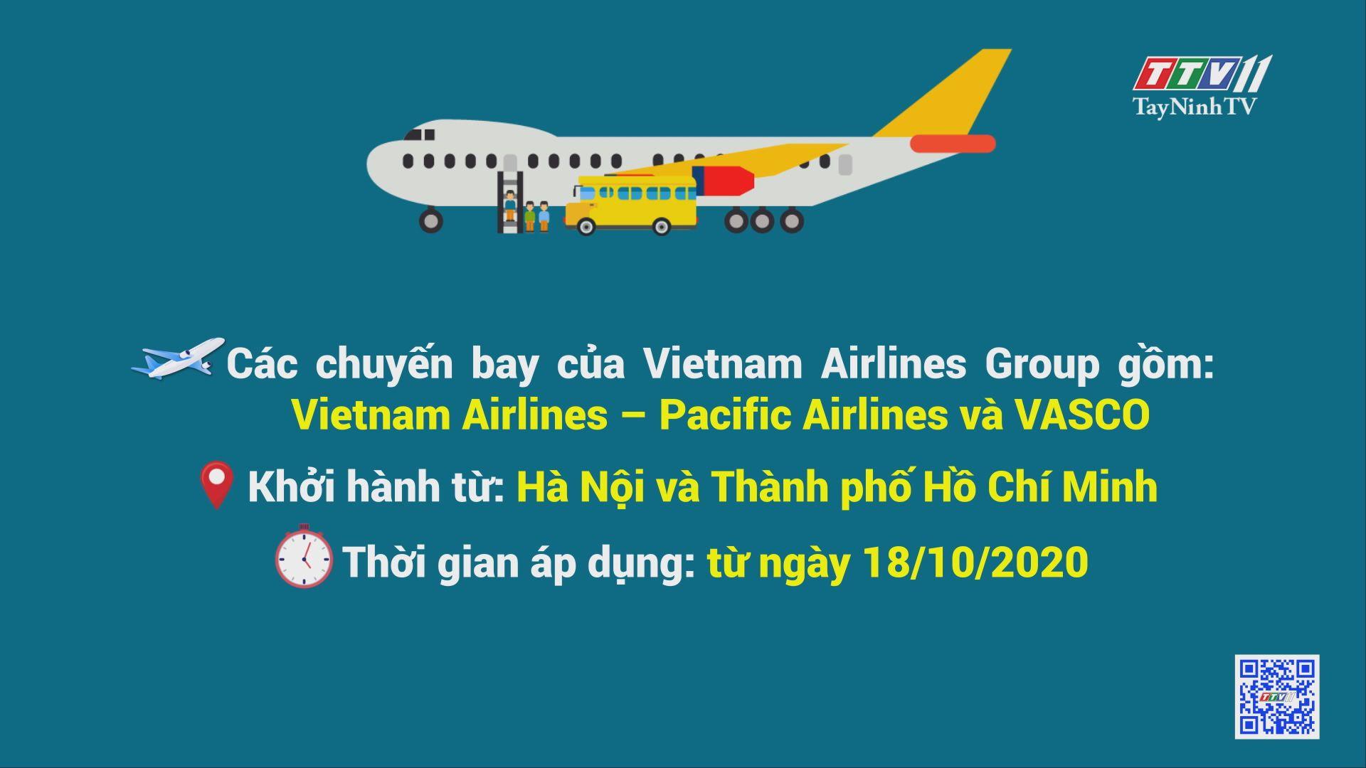 Việt Nam Airlines Group thông báo vận chuyển miễn cước hàng cứu trợ đồng bào miền Trung | TayNinhTV