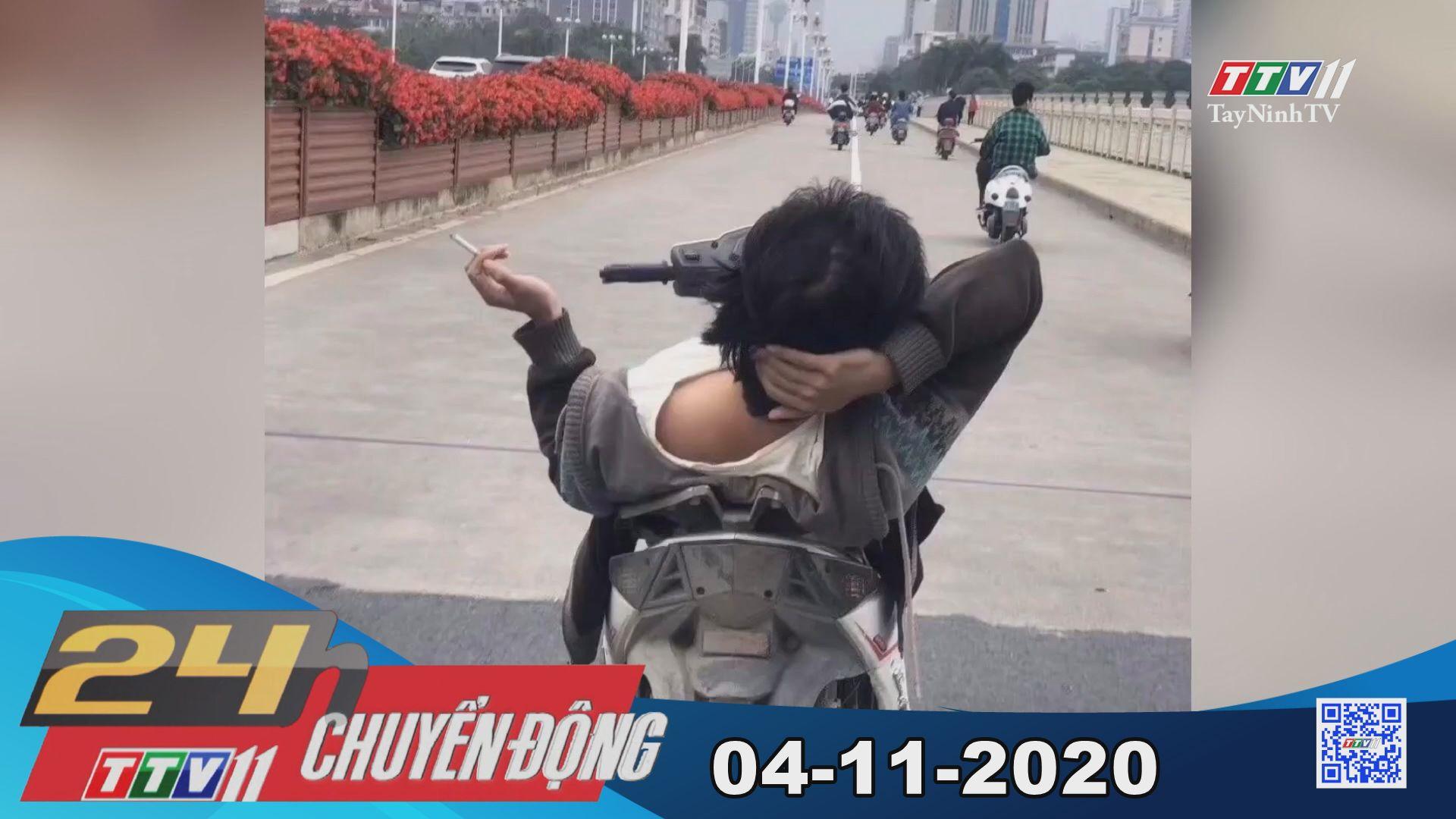 24h Chuyển động 04-11-2020 | Tin tức hôm nay | TayNinhTV