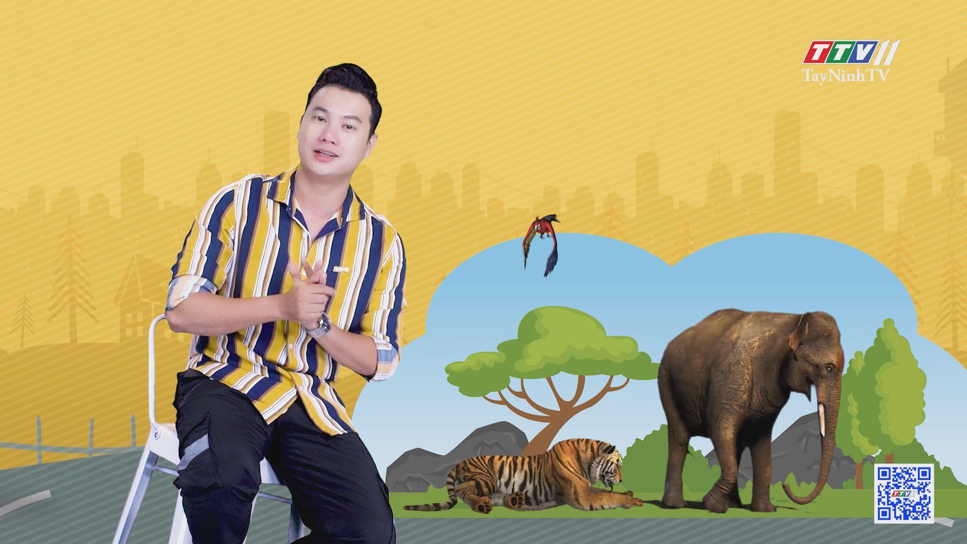 Công viên giải trí với những mô hình động vật | CHUYỆN ĐÔNG TÂY KỲ THÚ | TayNinhTV