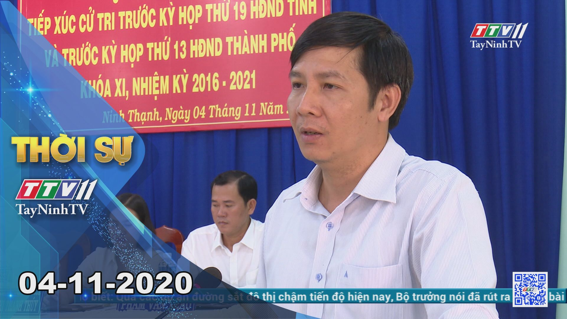 Thời sự Tây Ninh 04-11-2020   Tin tức hôm nay   TayNinhTV