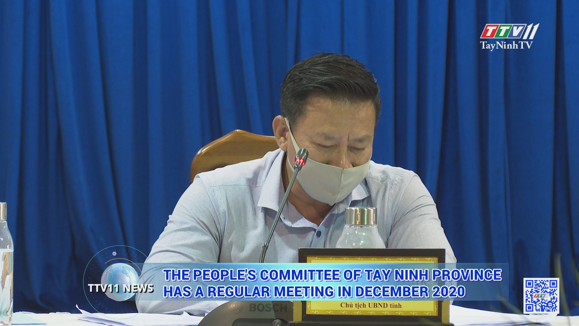 The people's committee of tay ninh province has a regular meeting in december 2020 | TTVNEWS | TayNinhTV Today