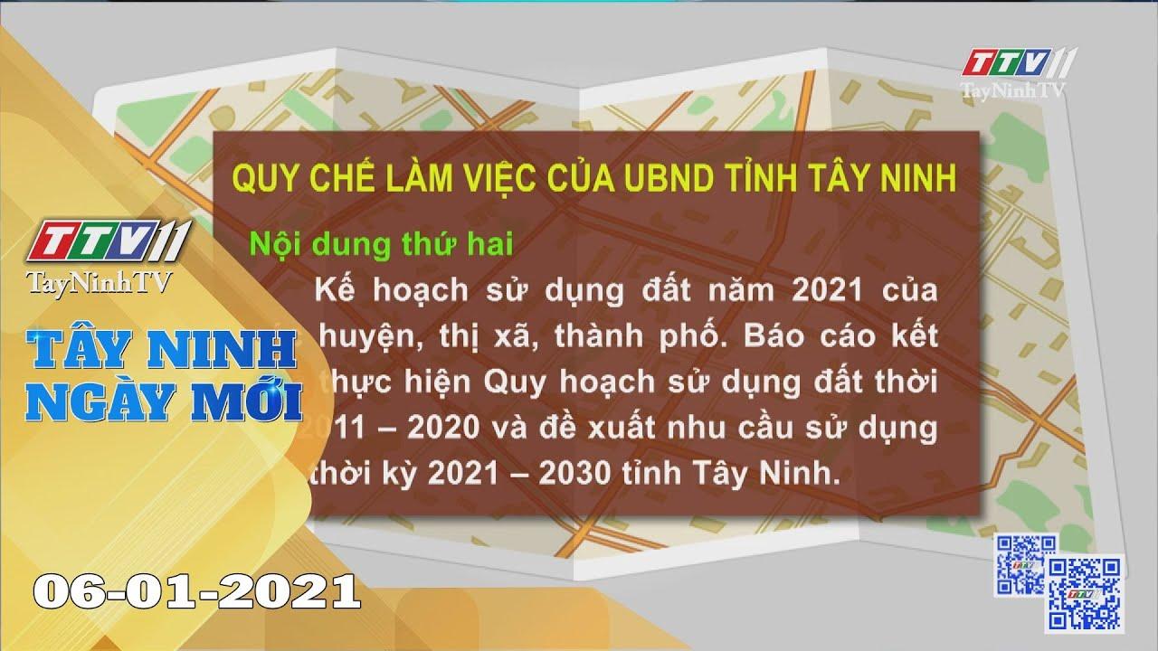 Tây Ninh Ngày Mới 06-01-2021 | Tin tức hôm nay | TayNinhTV