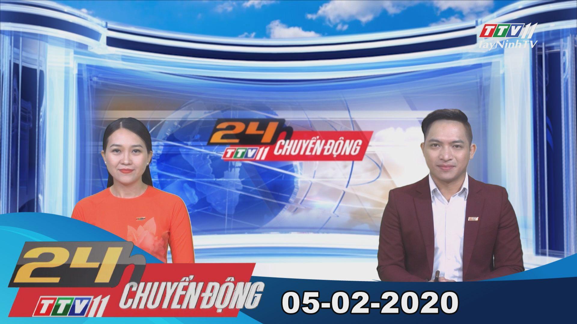 24h Chuyển động 05-02-2020 | Tin tức hôm nay | TayNinhTV