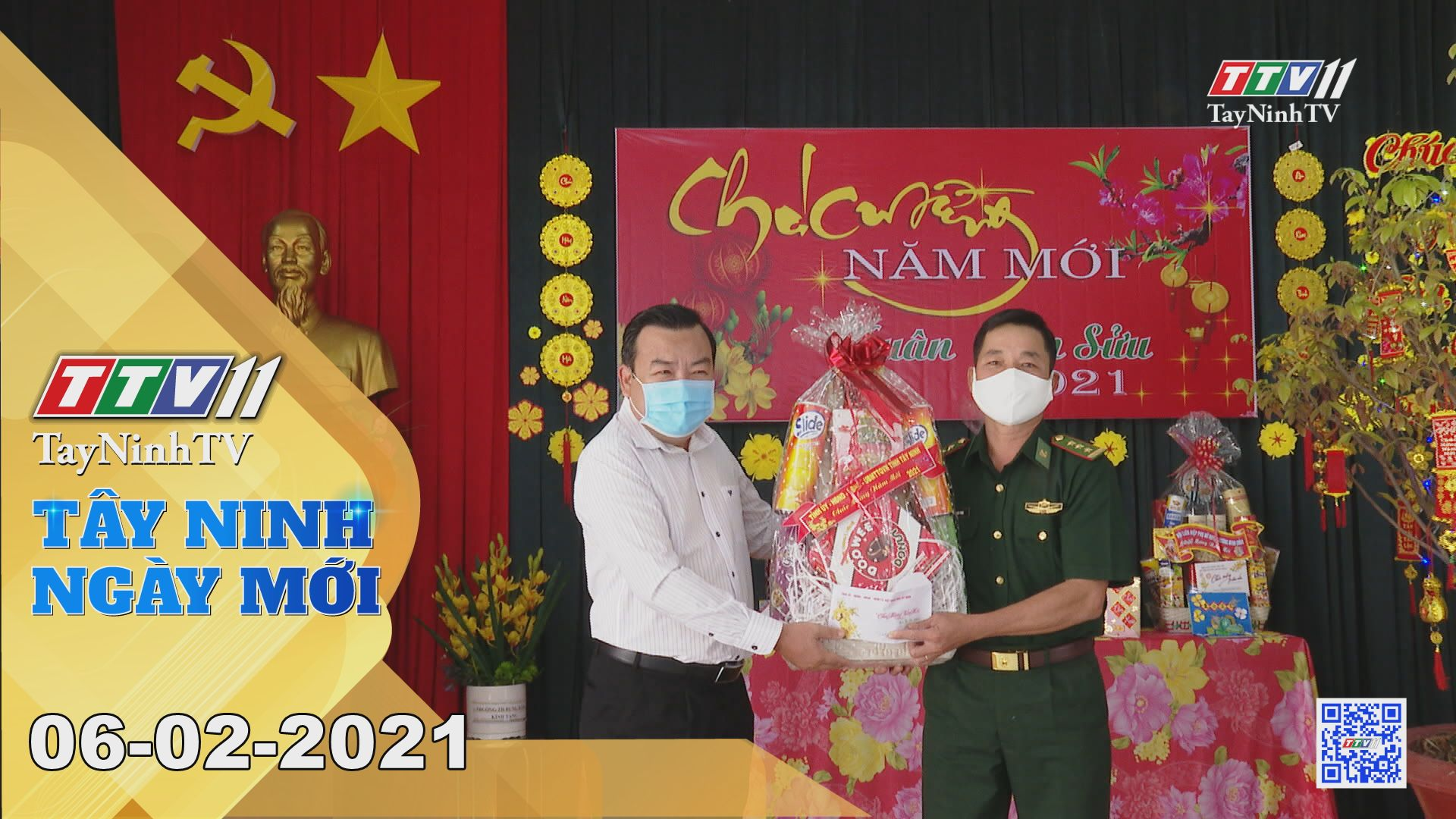 Tây Ninh Ngày Mới 06-02-2021   Tin tức hôm nay   TayNinhTV