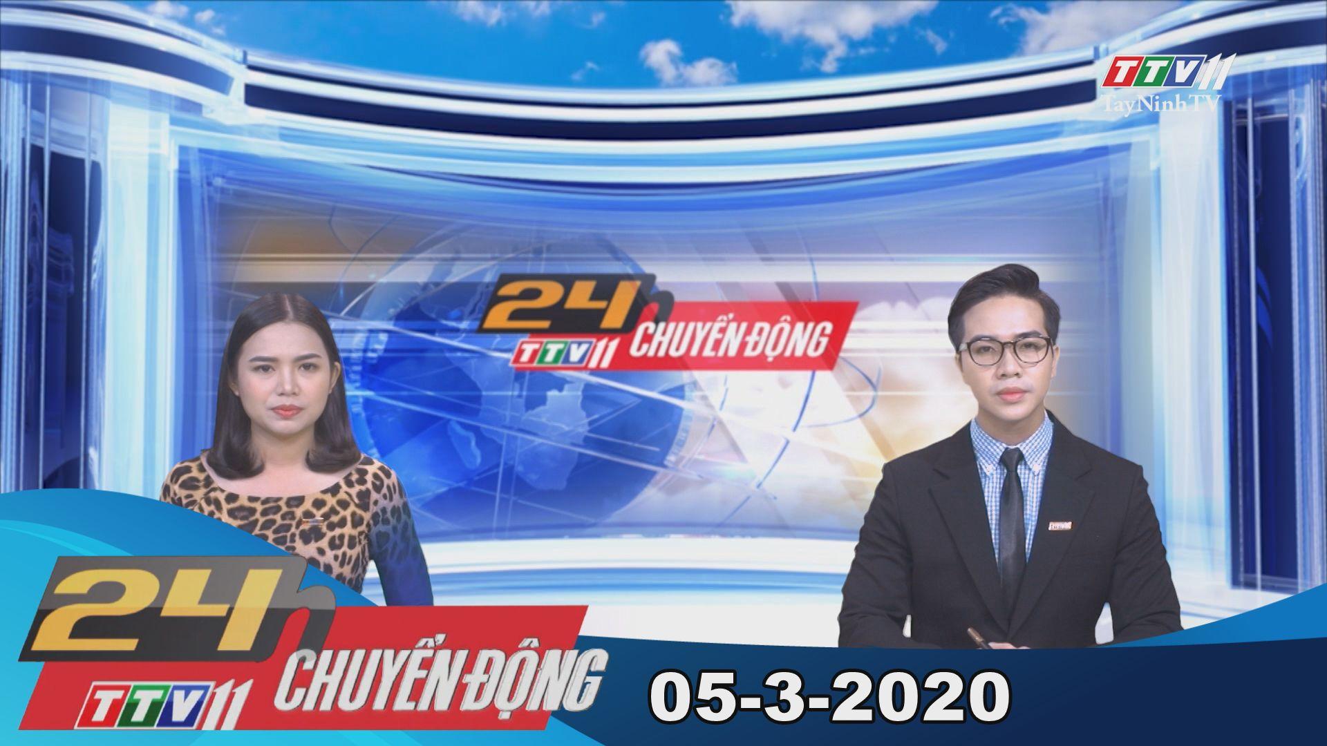24h Chuyển động 05-3-2020 | Tin tức hôm nay | TayNinhTV