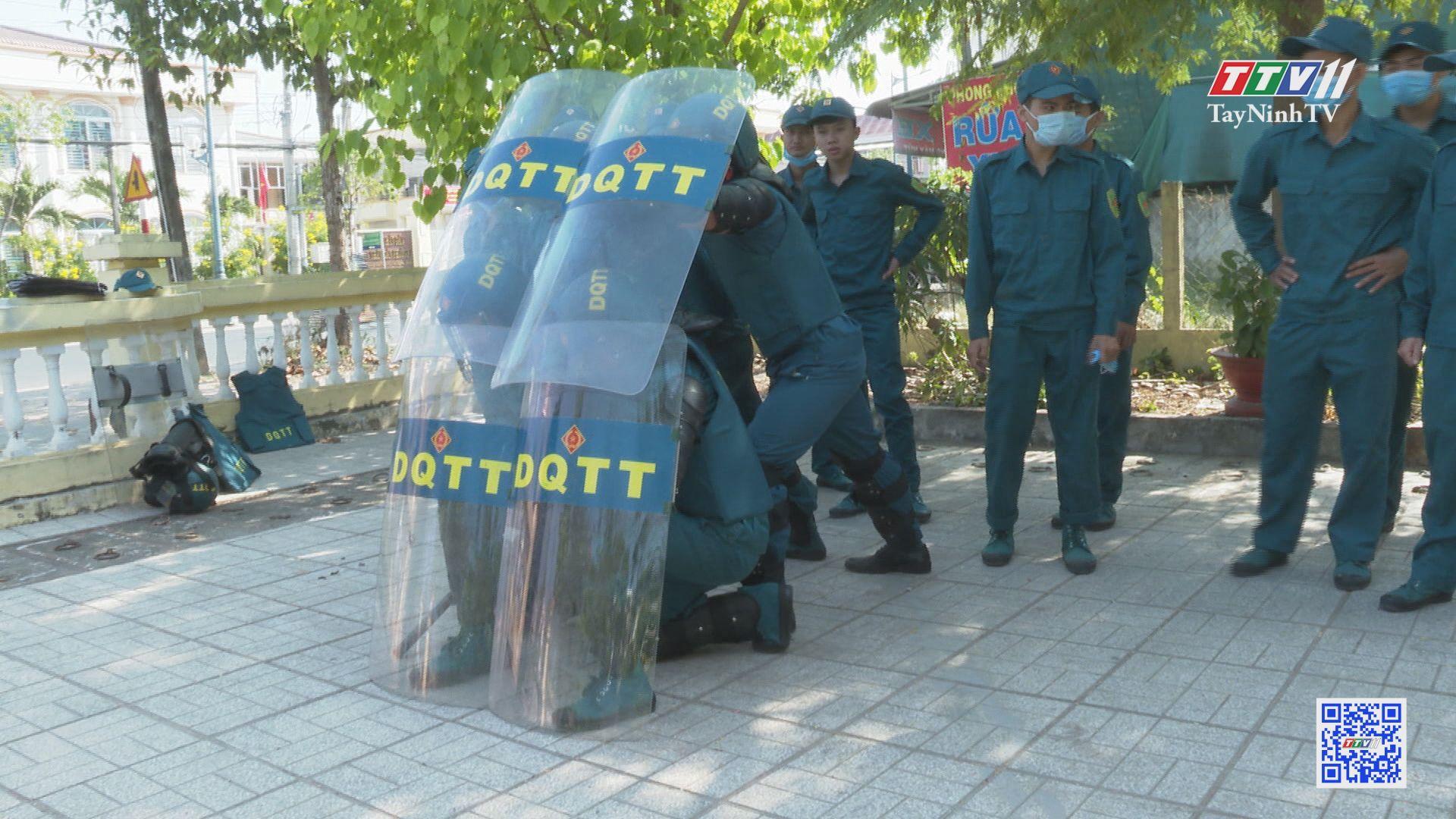 Dân quân tự vệ phối hợp với Công an phường, xã giữ vững an ninh trật tự   PHÁP LUẬT VỀ DÂN QUÂN TỰ VỆ   TayNinhTV