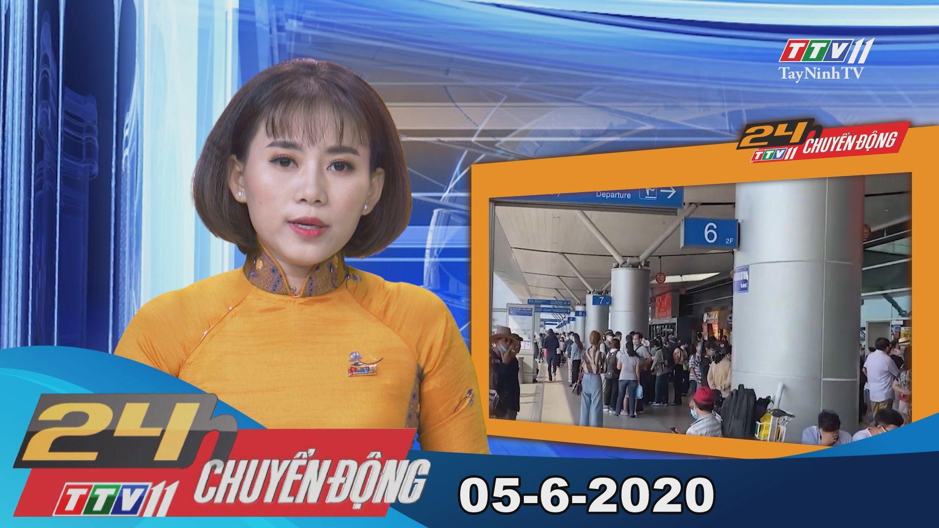 24h Chuyển động 05-6-2020 | Tin tức hôm nay | TayNinhTV